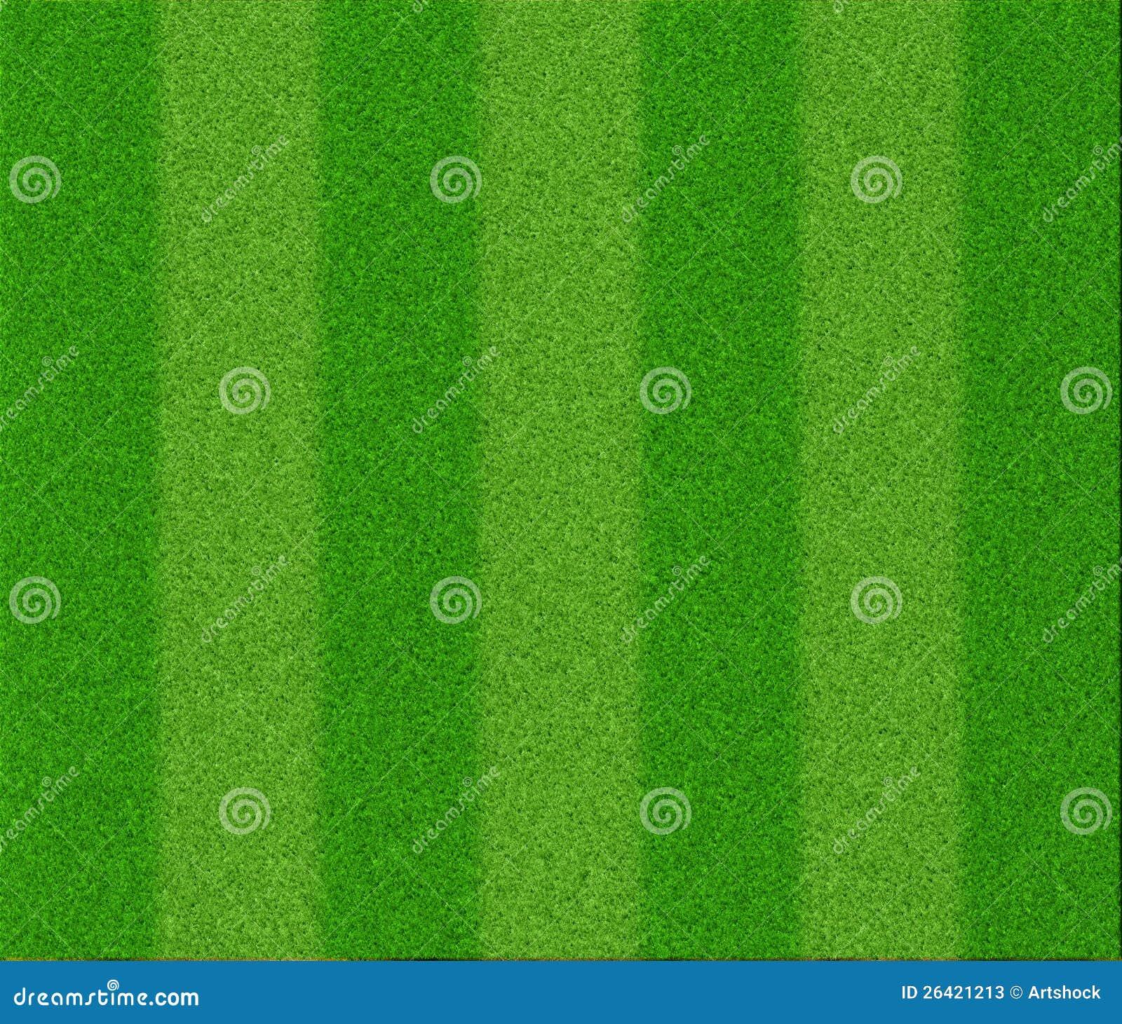 Het grastextuur van de voetbal