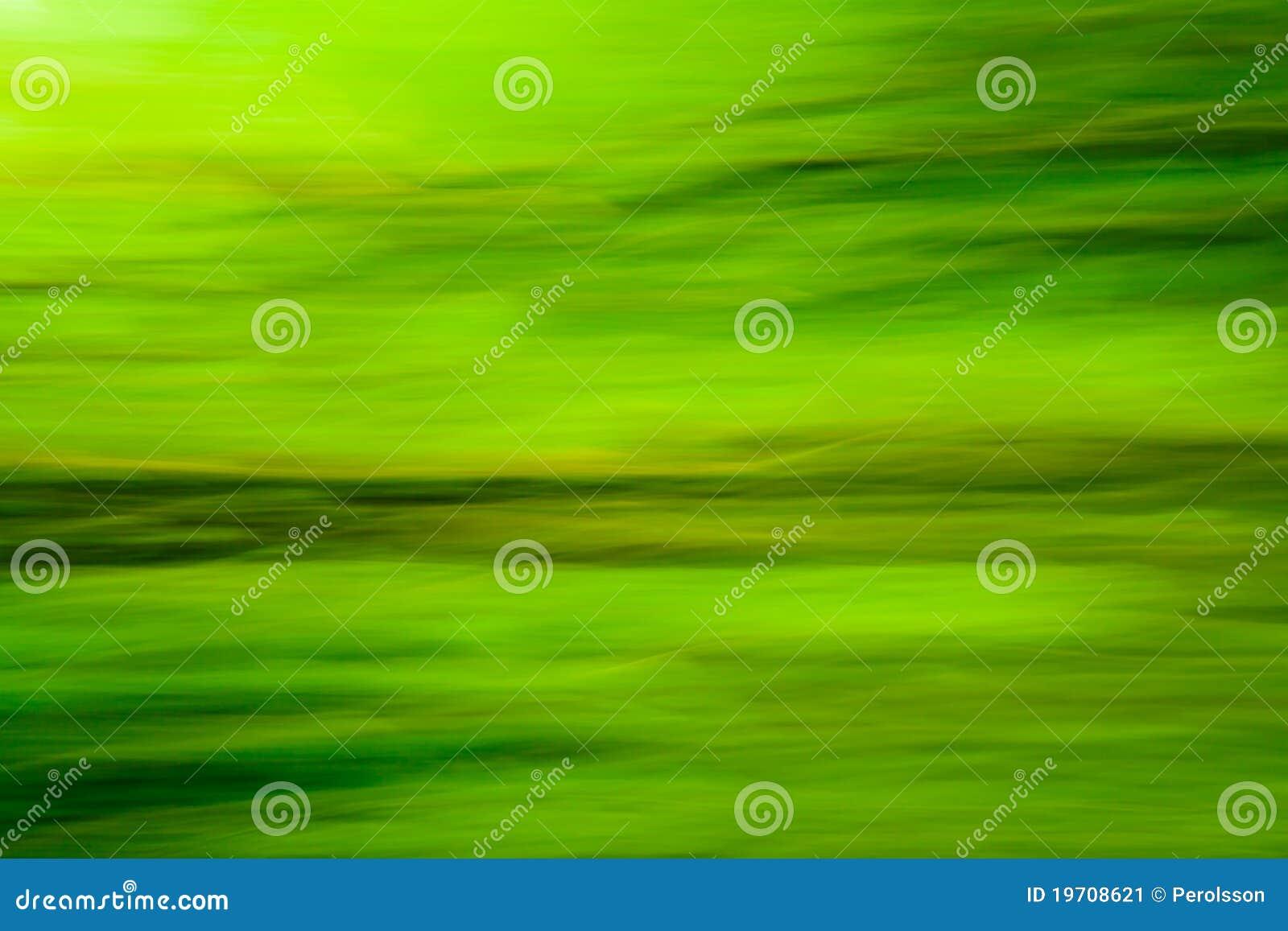 Het groene onduidelijke beeld van de aard