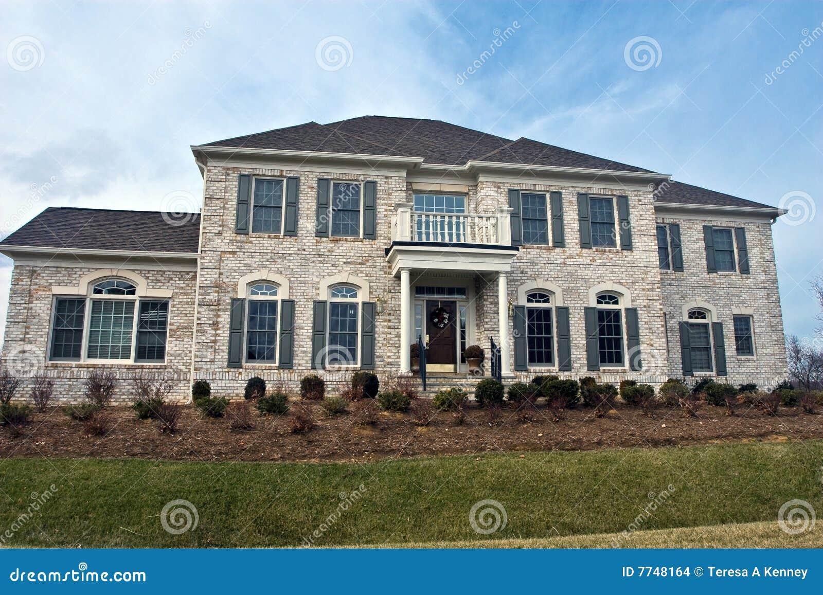 Het grote huis van virginia stock foto afbeelding 7748164 - Huis van het wereldkantoor newport ...