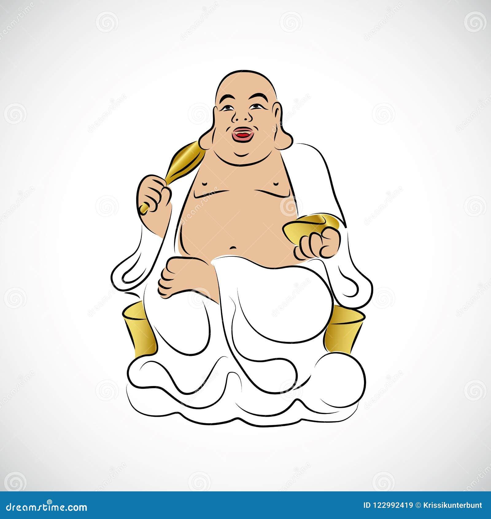 Het grote Thaise Gouden Standbeeld van Boedha
