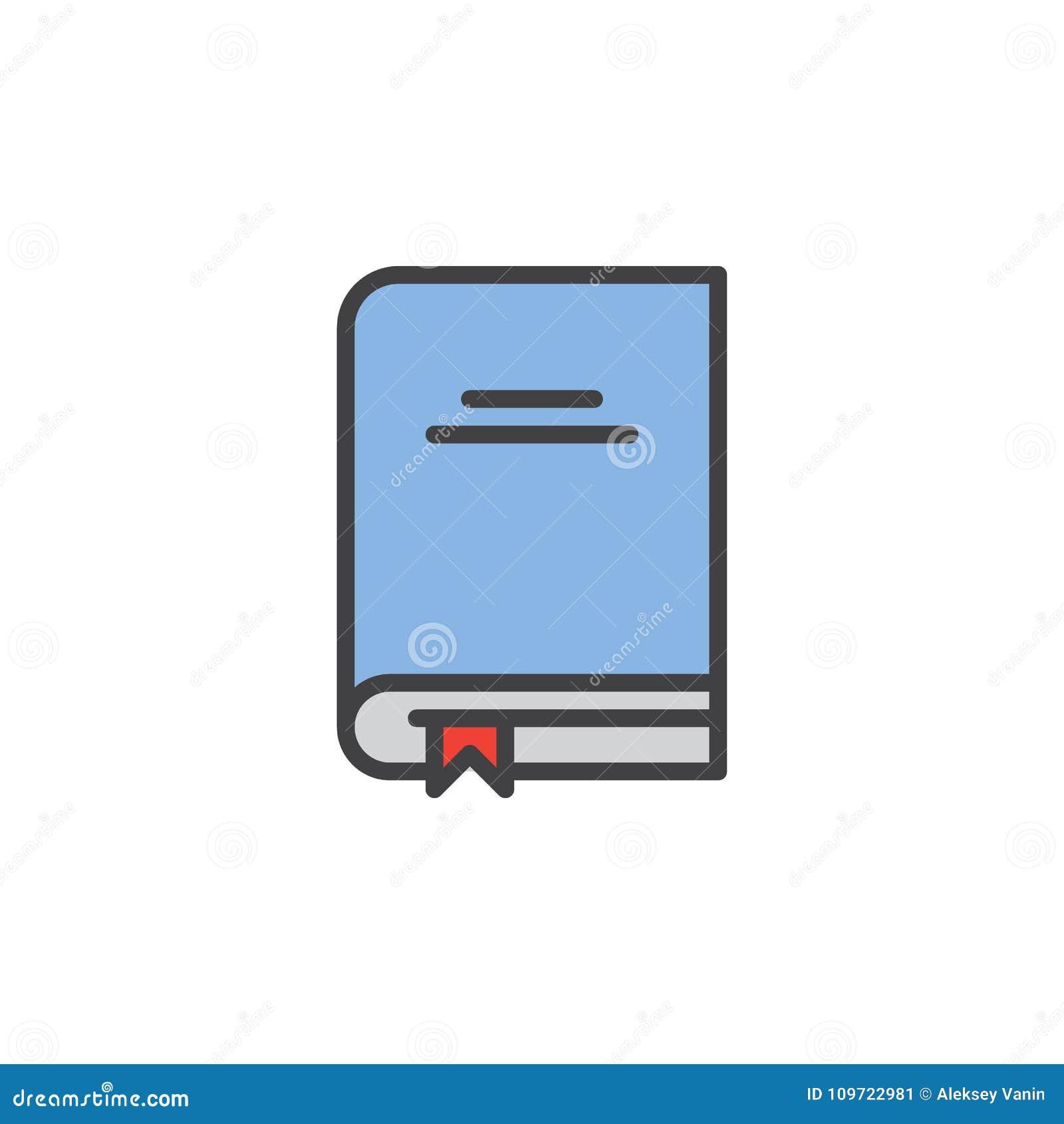 Het handboek met referentie vulde overzichtspictogram