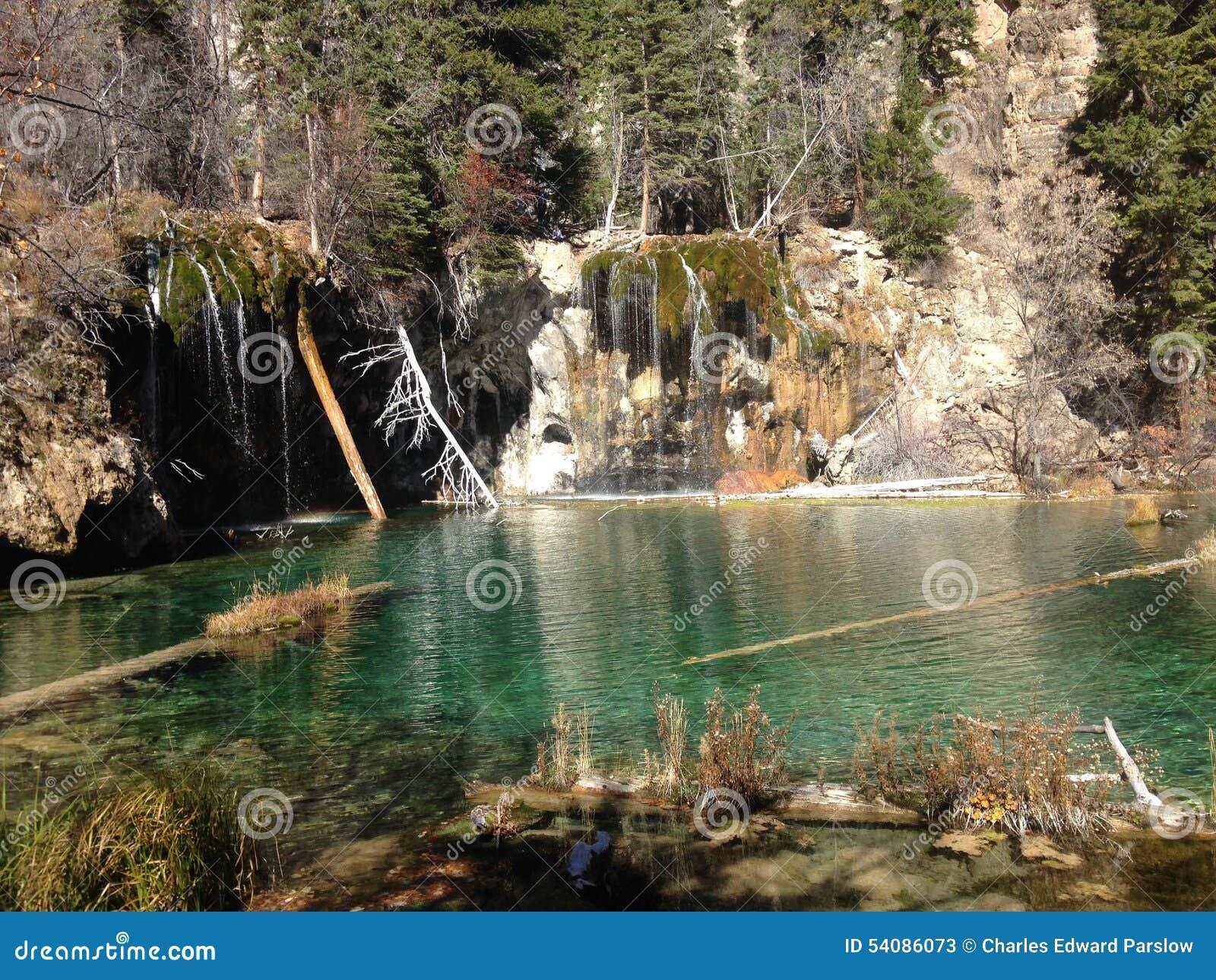 Het hangende meer valt Colorado