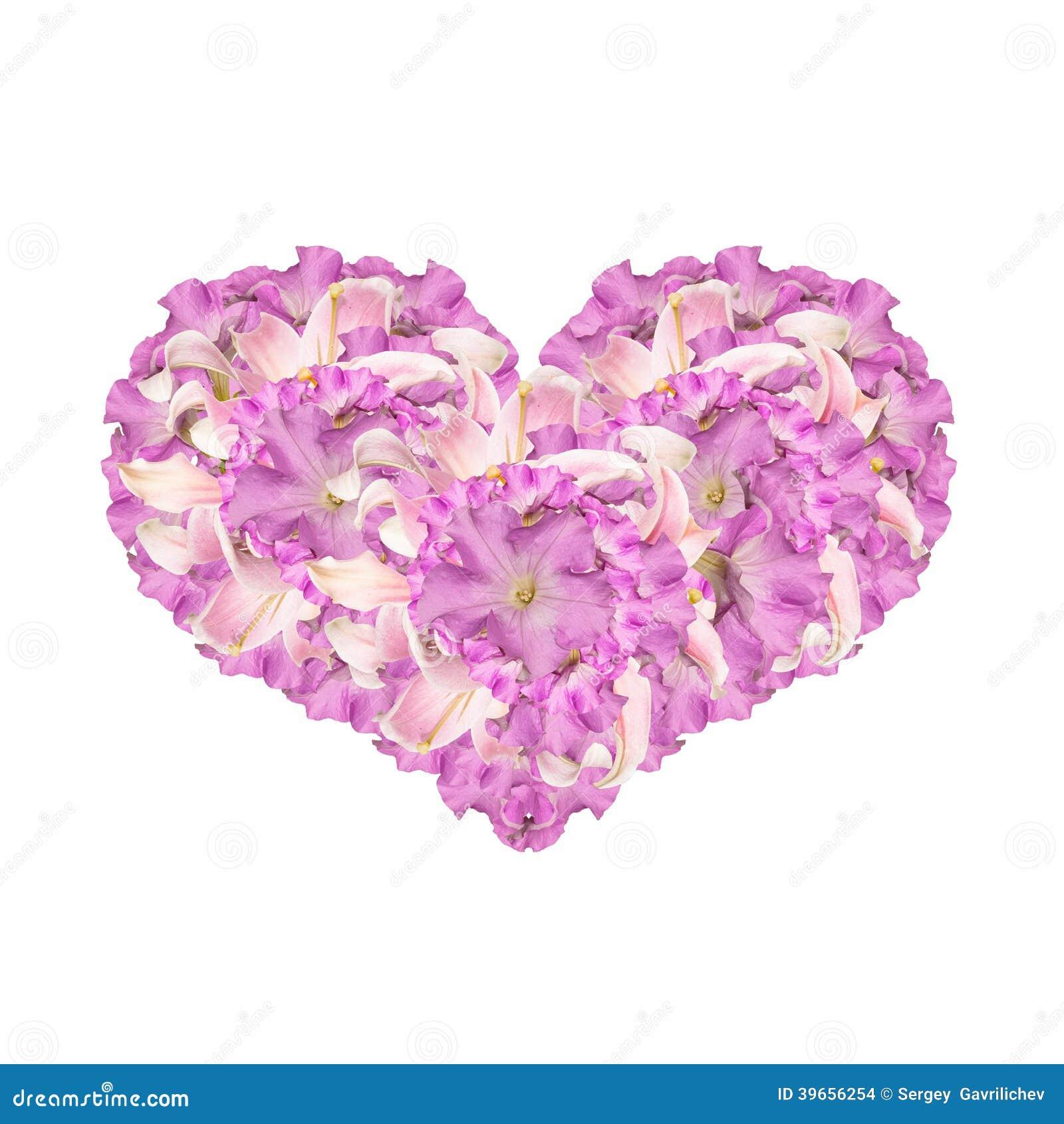 Het hart van bloemen