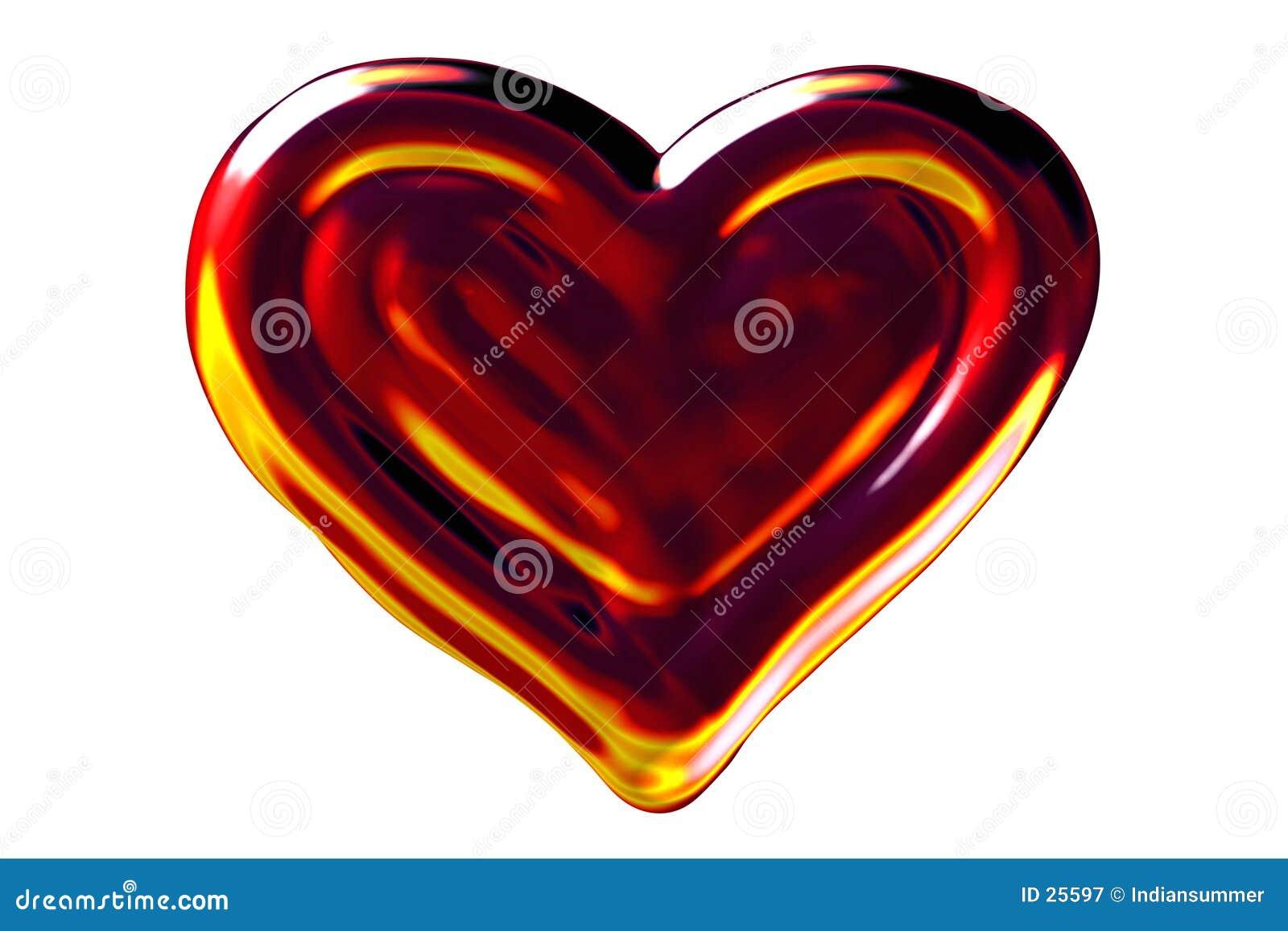 Het hart van de brand