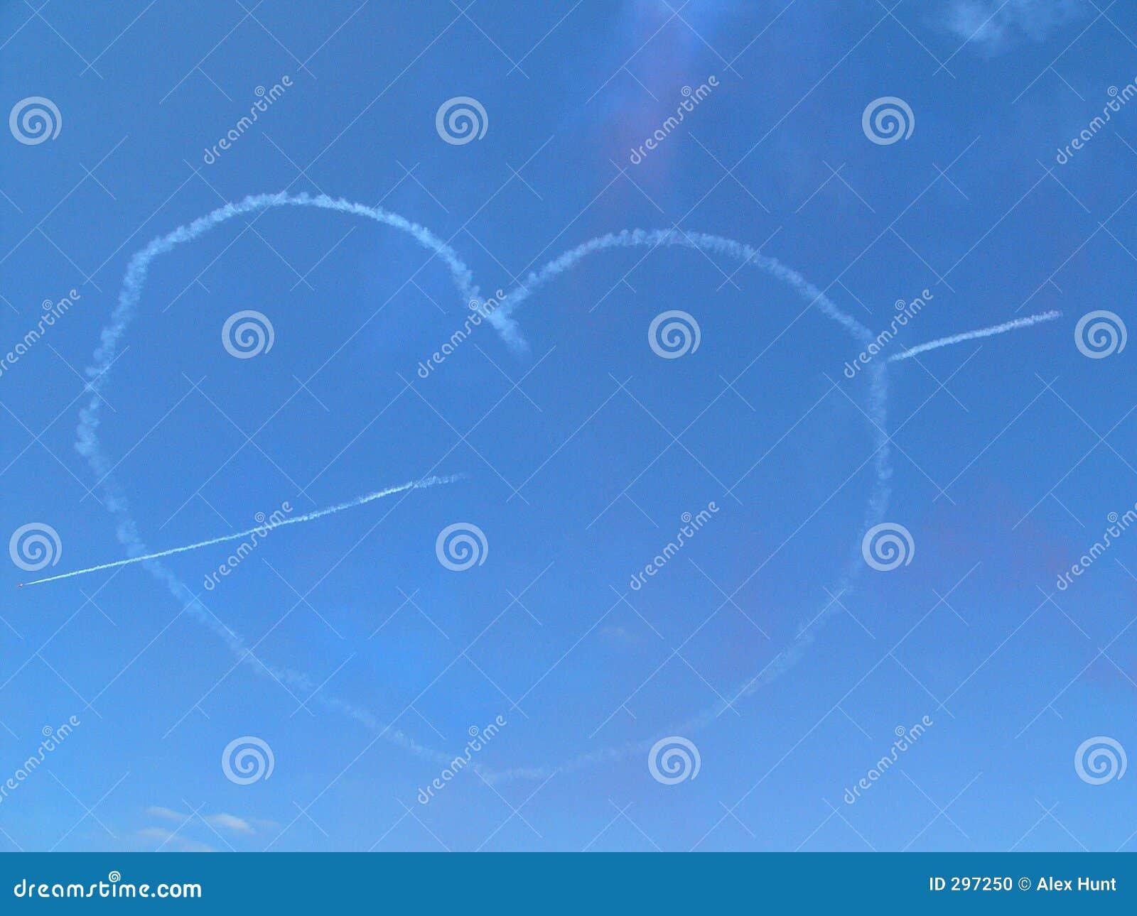 Het Hart van de Liefde van de wolk