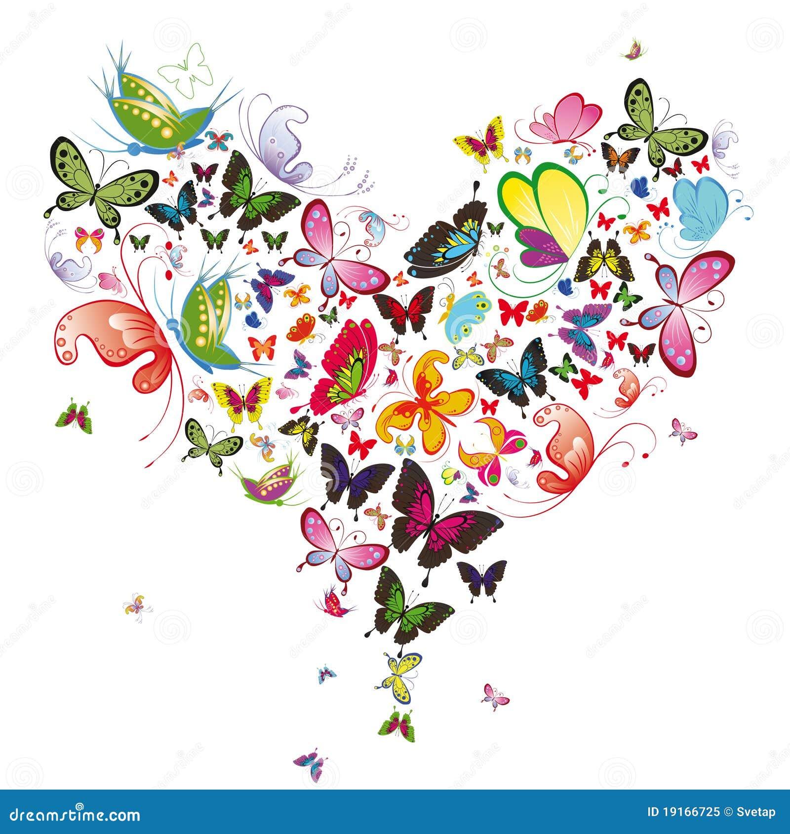 Het hart van de vlinder