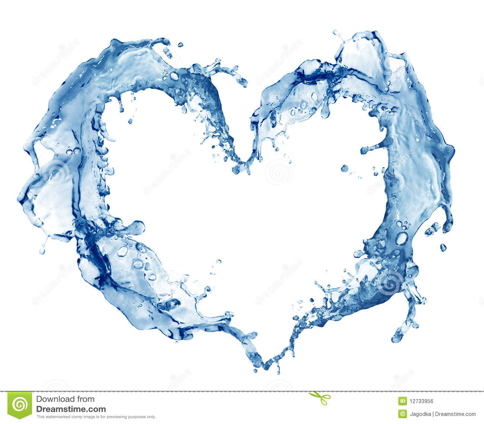Het hart van het water