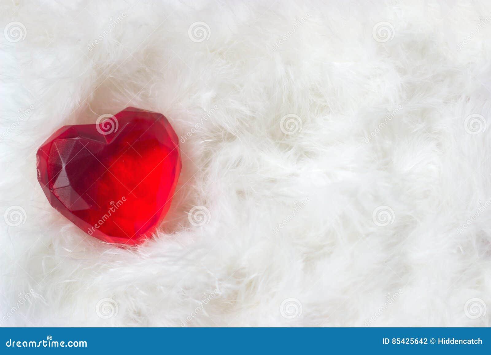 Het hart van valentijnskaarten