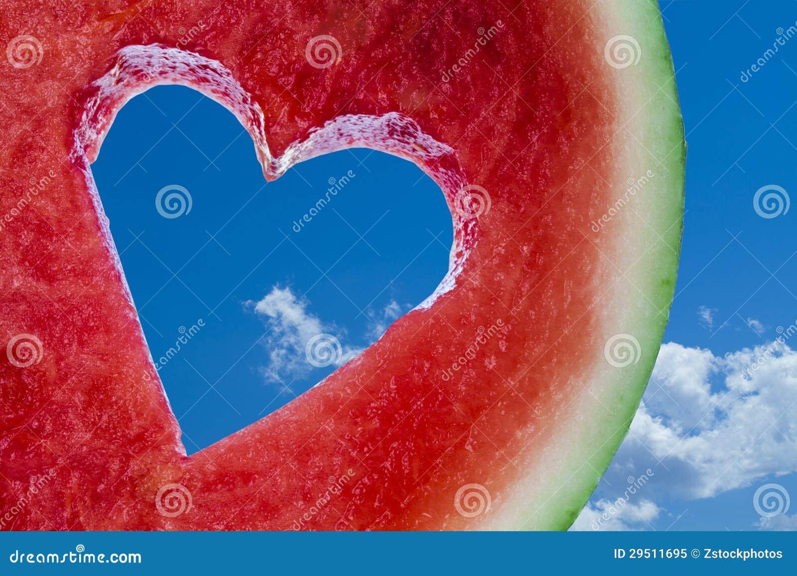 Het hartfruit van de liefde
