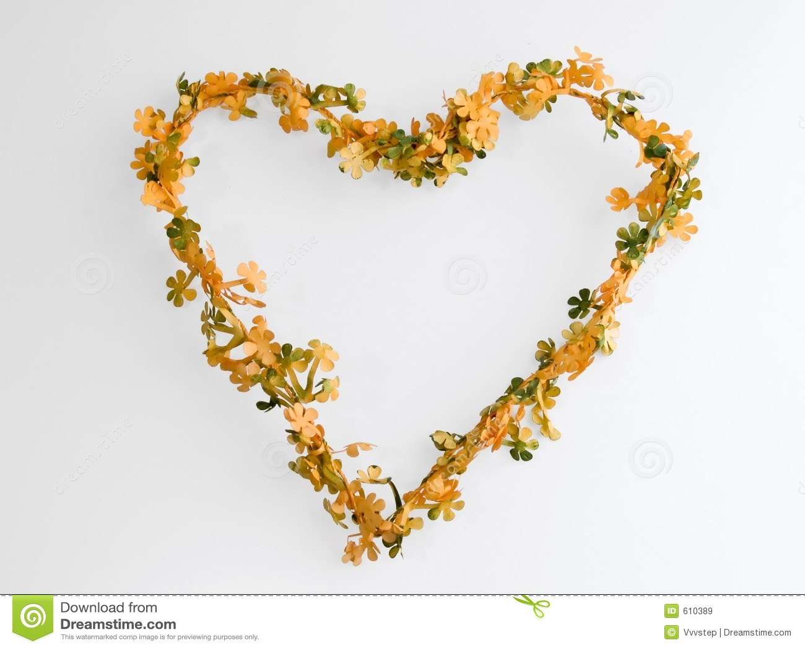 Het hartkroon van de bloem