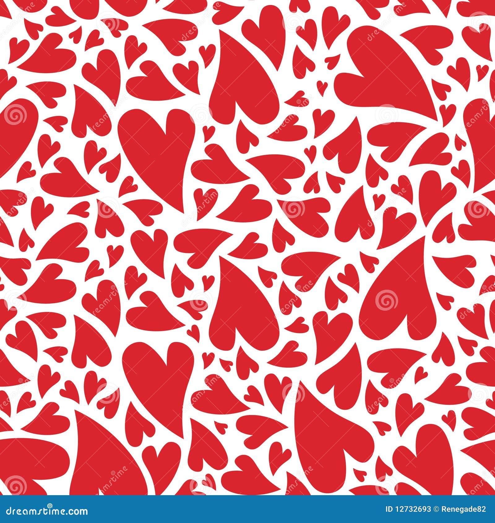 Het hartpatroon van de liefde