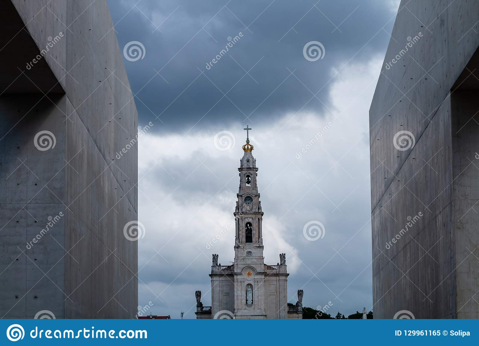 Het Heiligdom van Fatima, dat ook als Basili wordt bedoeld
