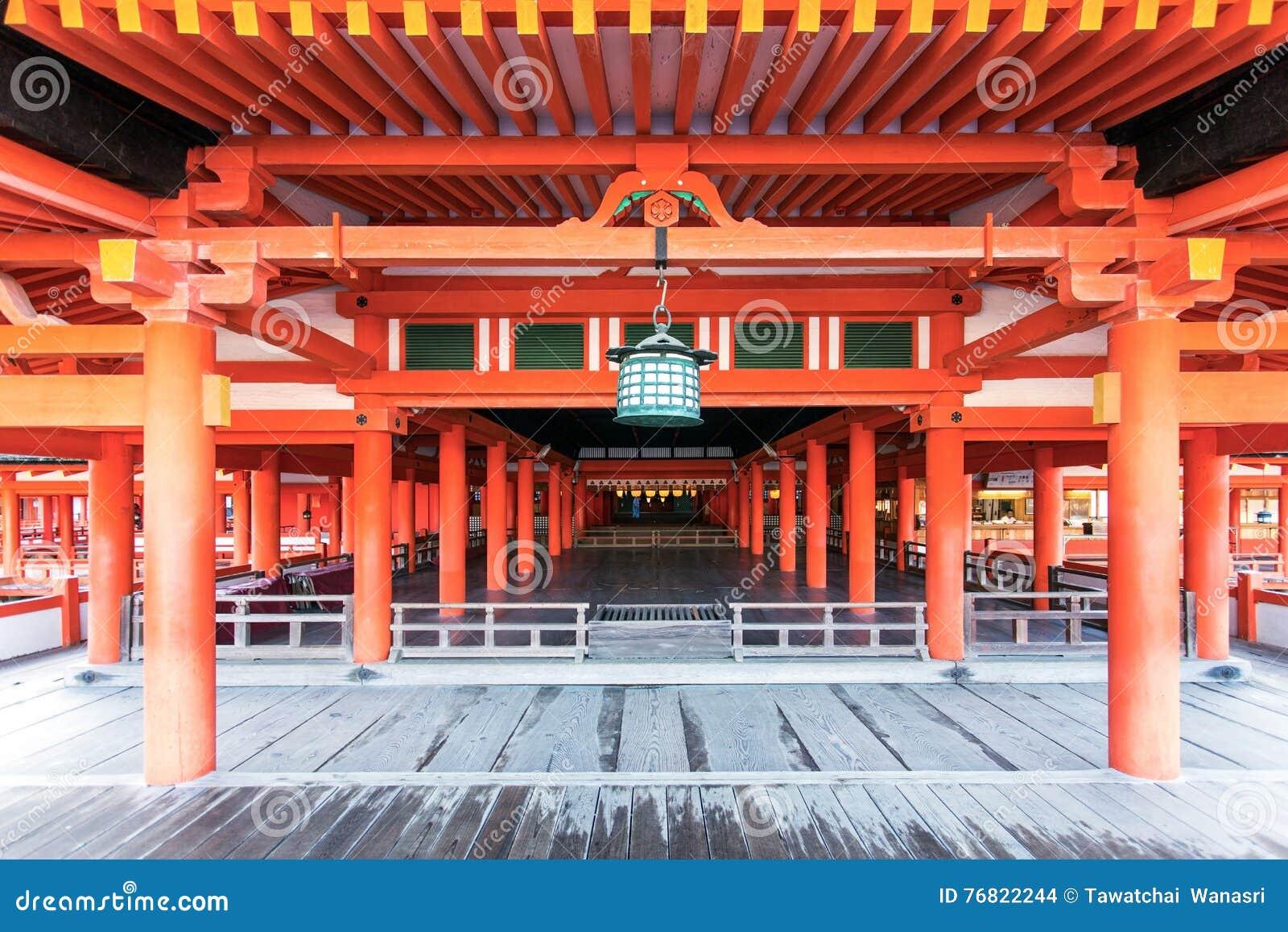 Het Heiligdom van Itsukushima