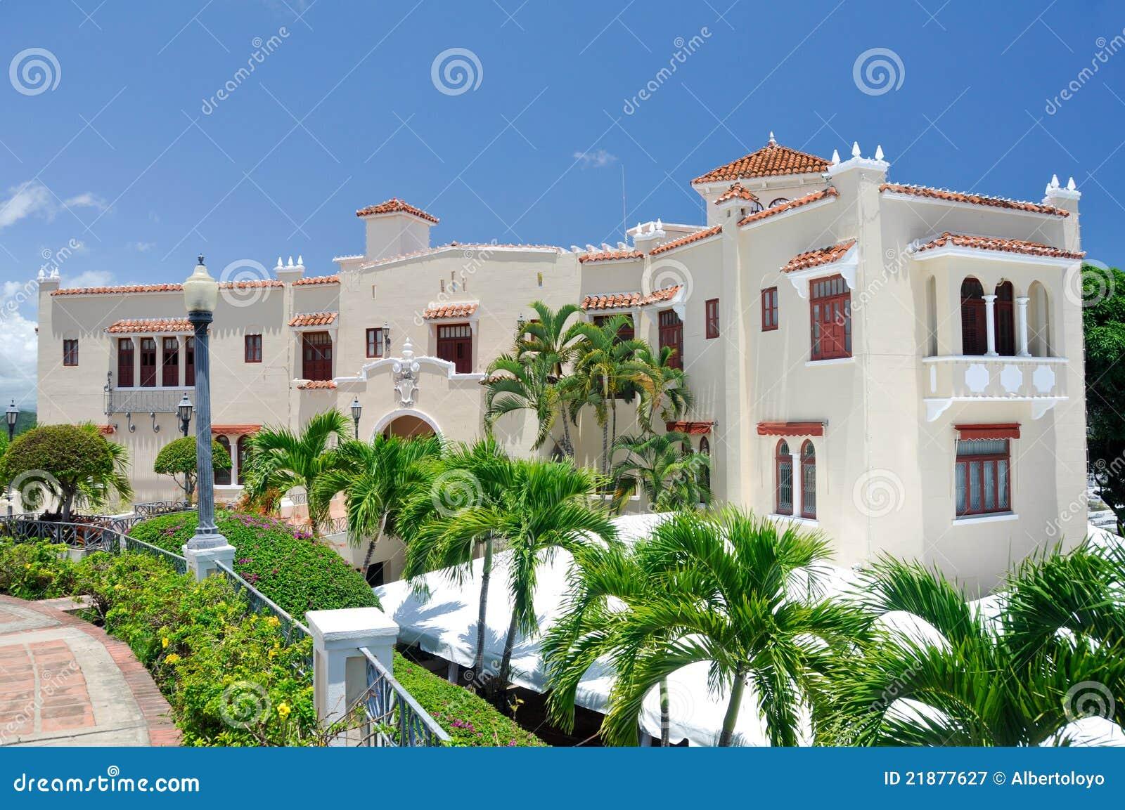 Het Herenhuis van Serralles van Castillo in Ponce (Puerto Rico)