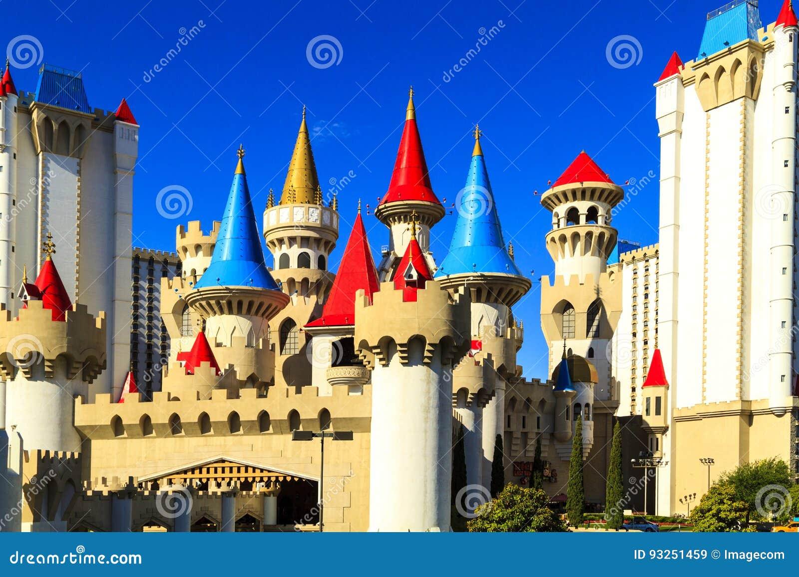 Het het Hotel en Casino van Excalibur - Las-vegas