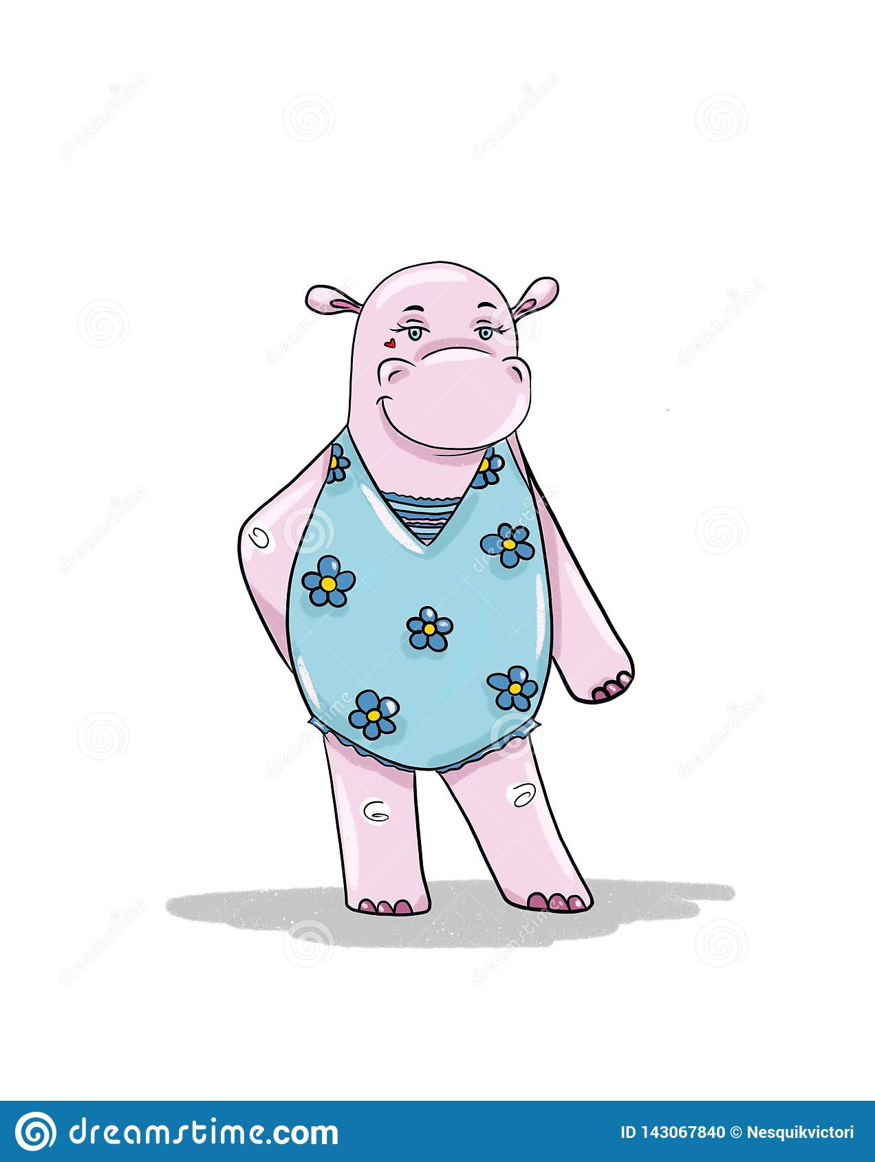 Het Hippomeisje gaat zonnebaden