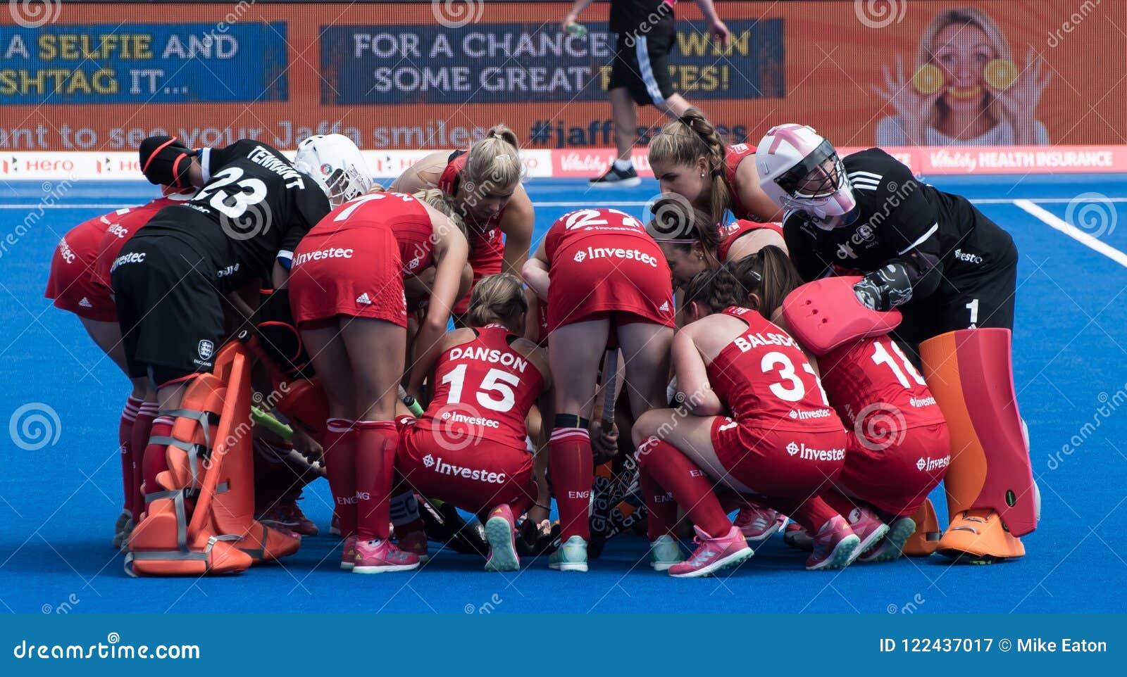 Het Hockeykop 2018 van de vrouwen` s Wereld
