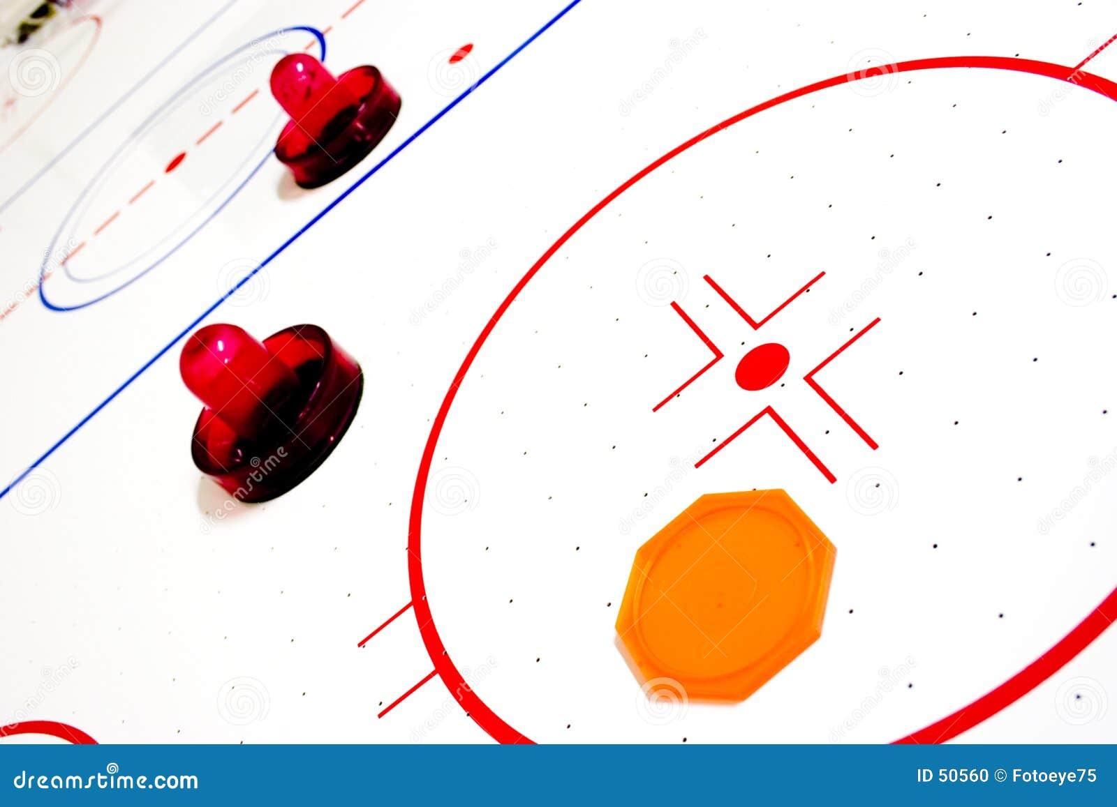 Het hockeylijst van de lucht