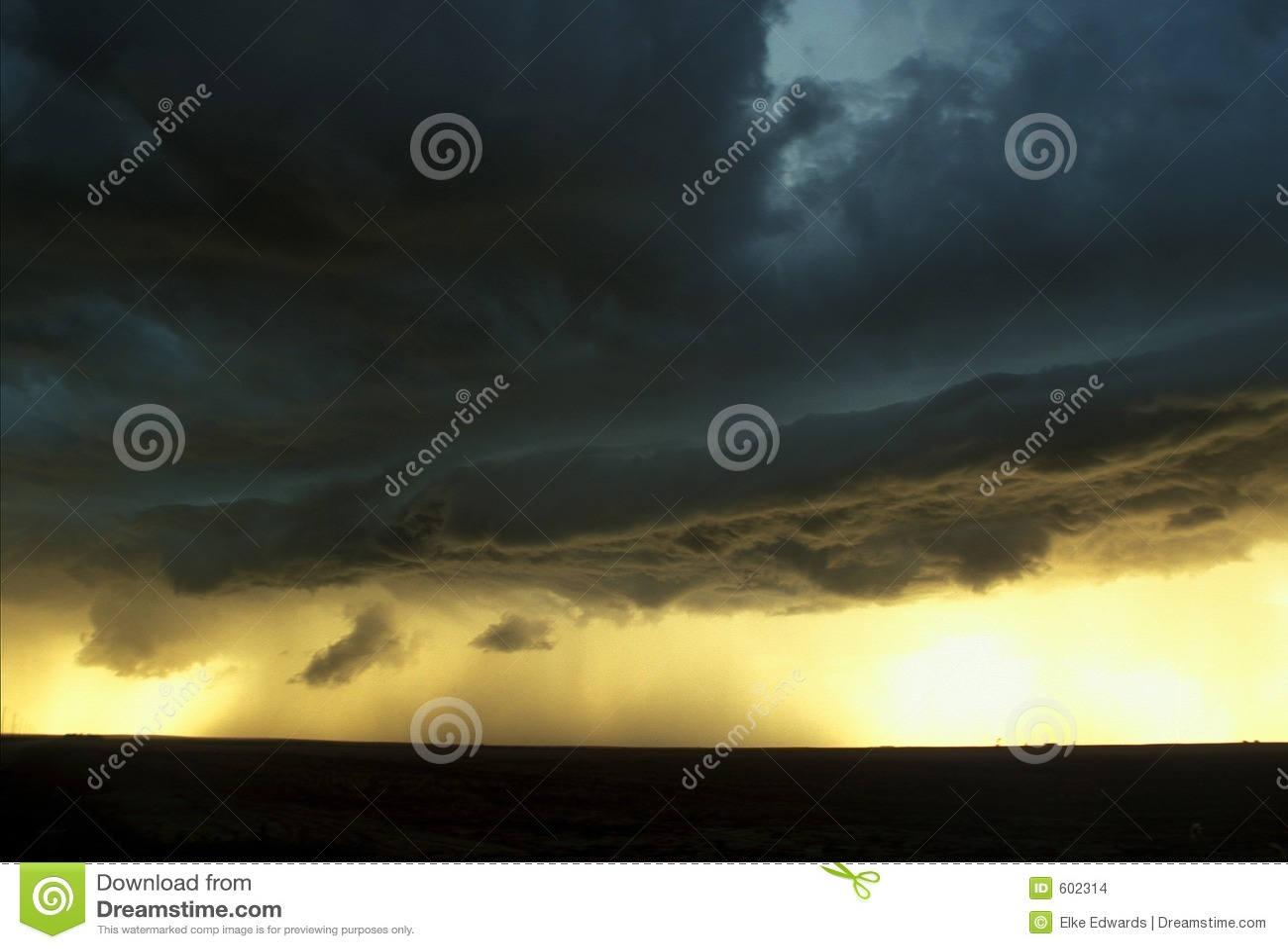 Het hoge Onweer van Vlaktes