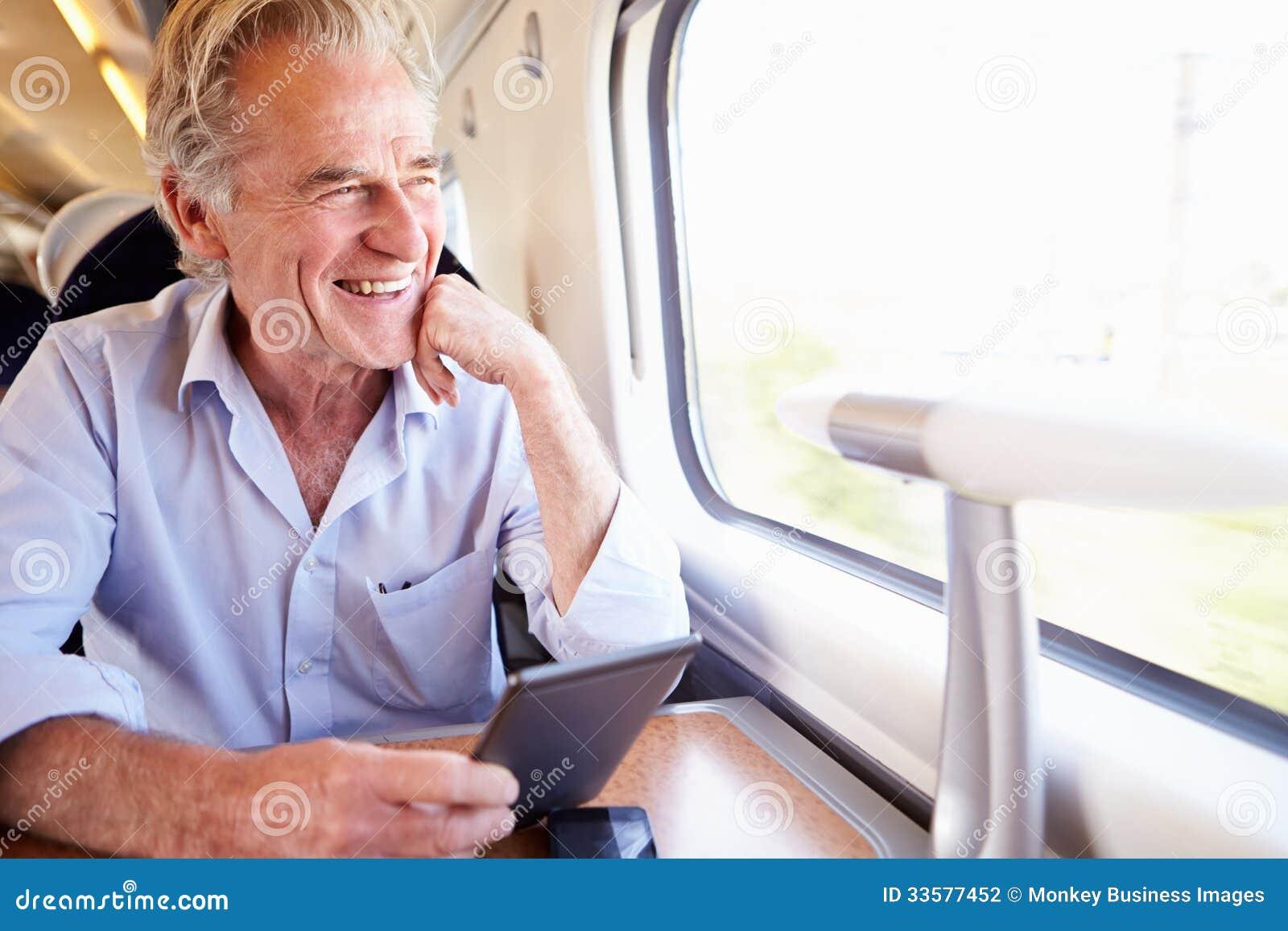 Het hogere Boek van de Mensenlezing E op Treinreis