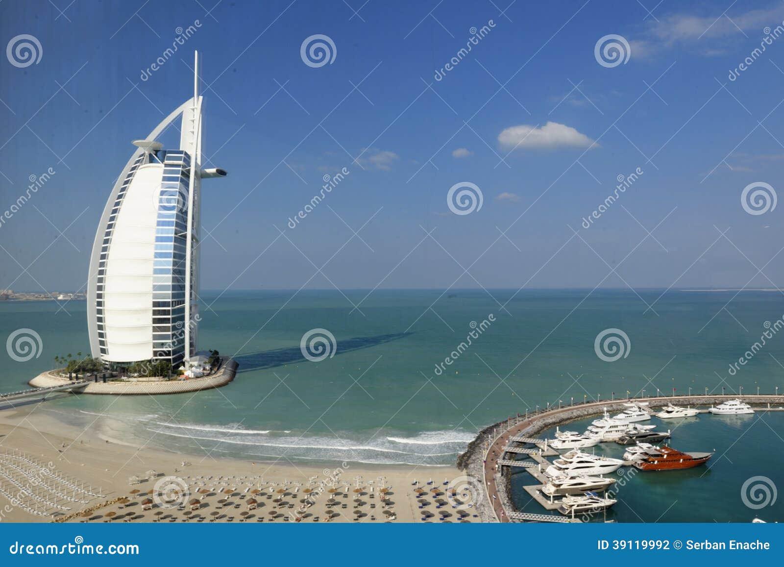 Het hotel van Burjal arab