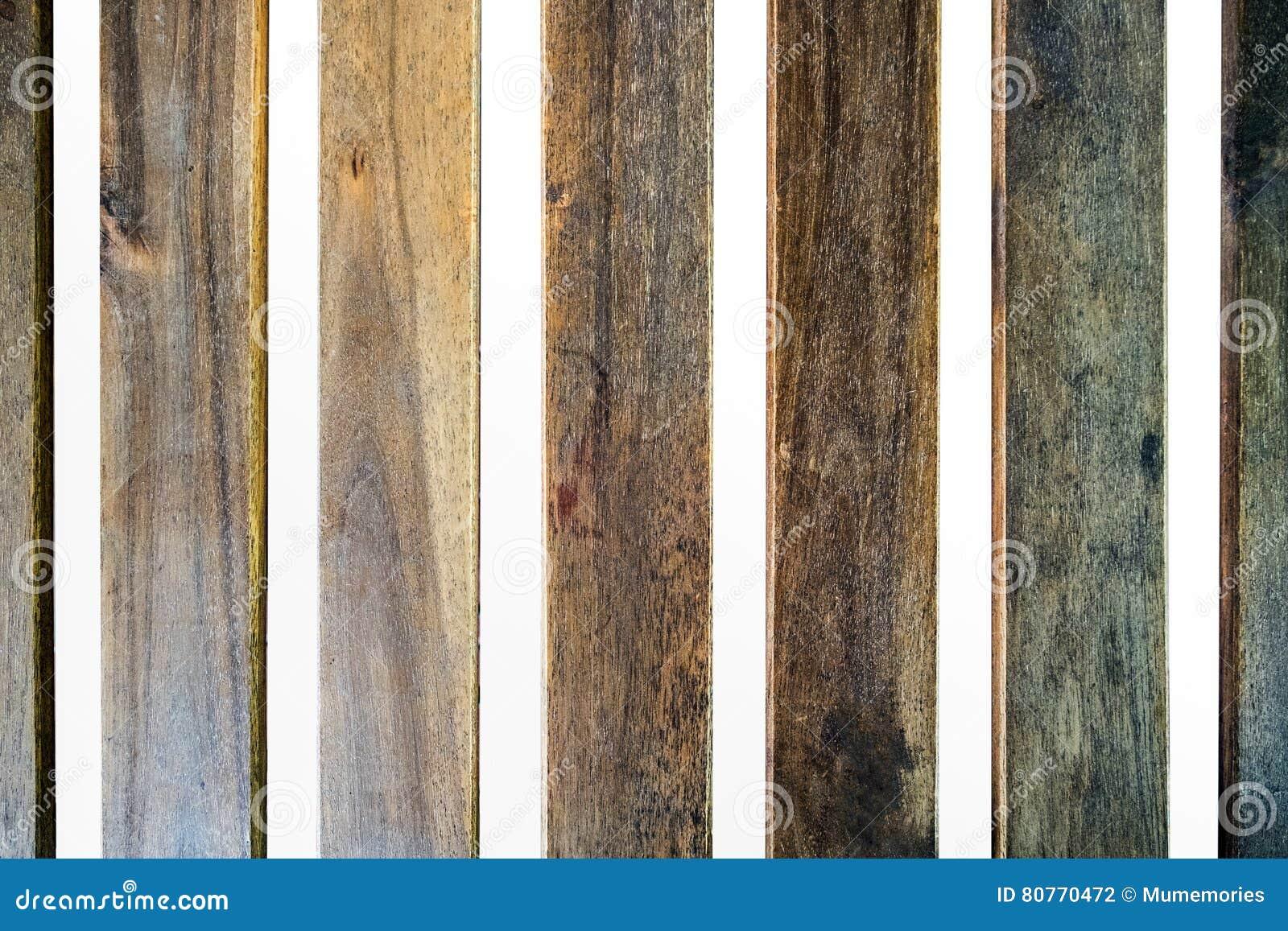 Het houten gearticuleerde hiaat van de bladlijst
