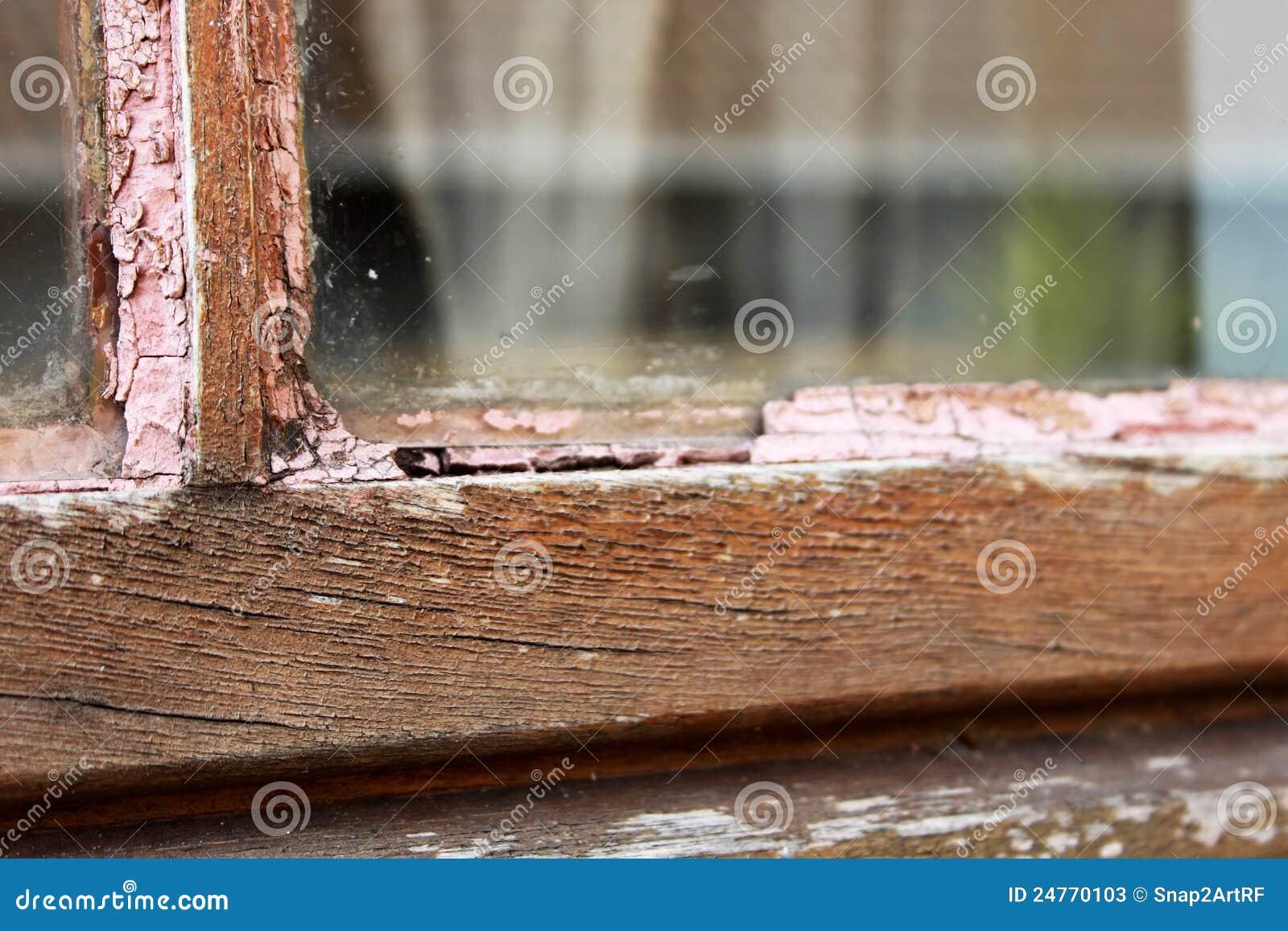 Het Houten Raamkozijn van het Onderhoud van de Reparatie van het huis