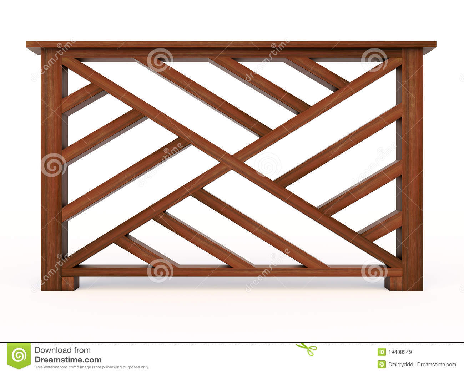 Het houten traliewerk van het ontwerp met houten balusters royalty vrije stock afbeeldingen - Ontwerp leuning ...