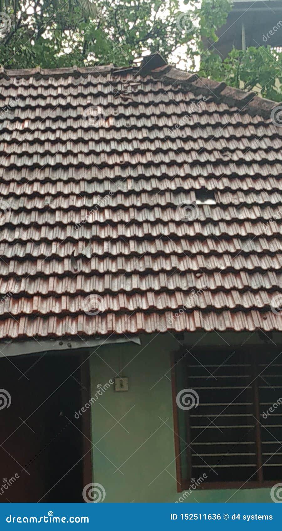 Het huis betegelt gebroken duidelijk