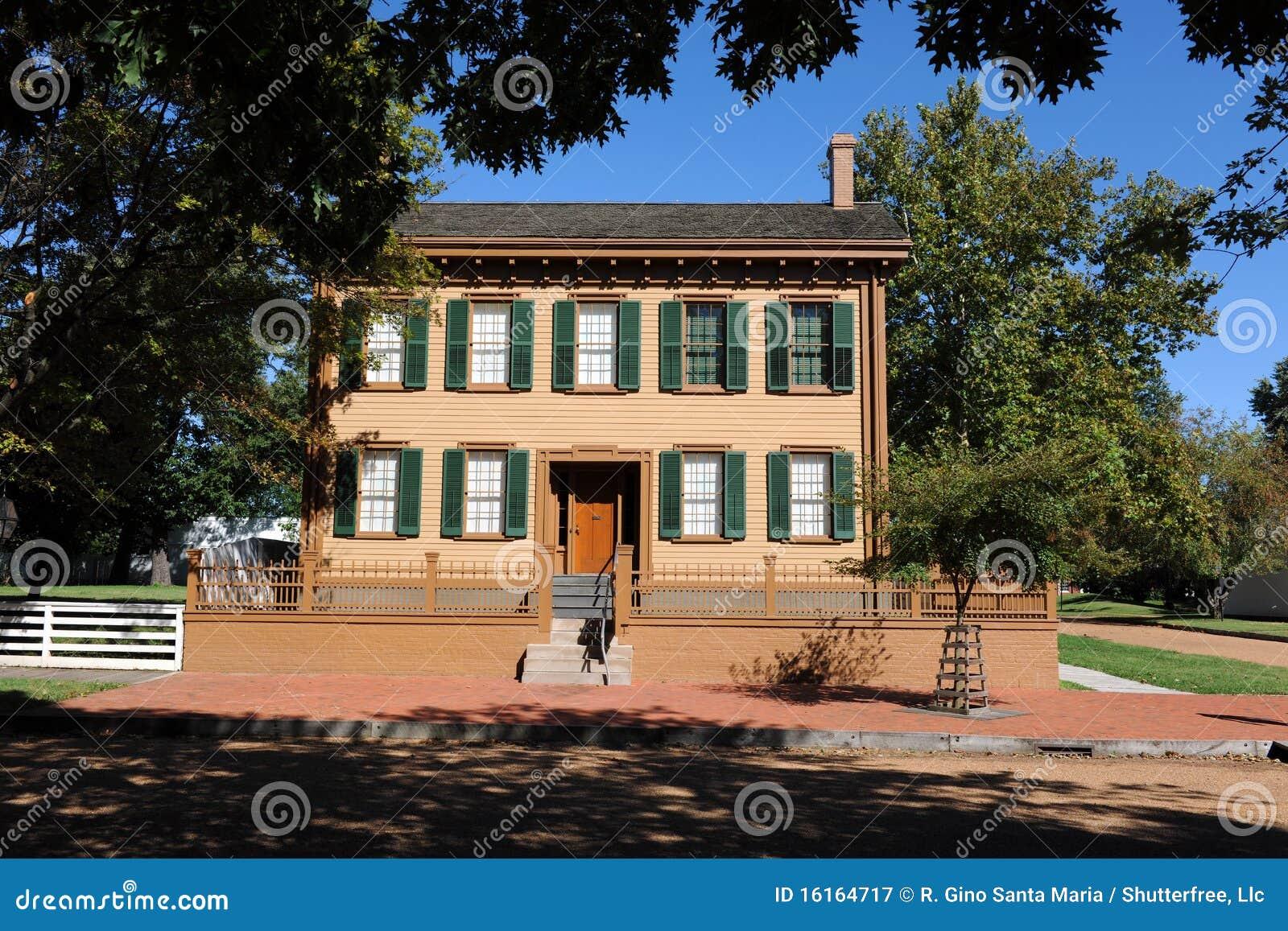 Het huis van abraham lincoln royalty vrije stock fotografie afbeelding 16164717 - Huis van het wereldkantoor newport ...
