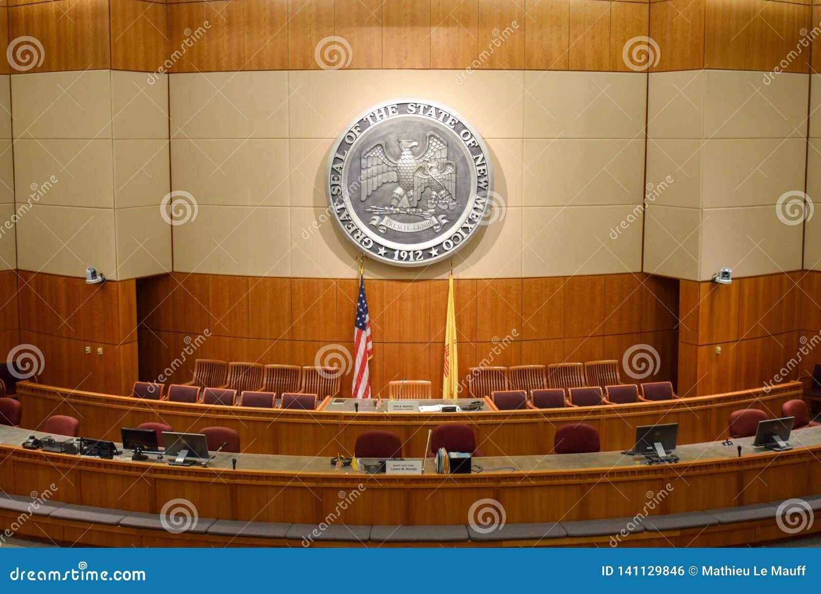 Het Huis van Afgevaardigden van New Mexico en Senaatskamer