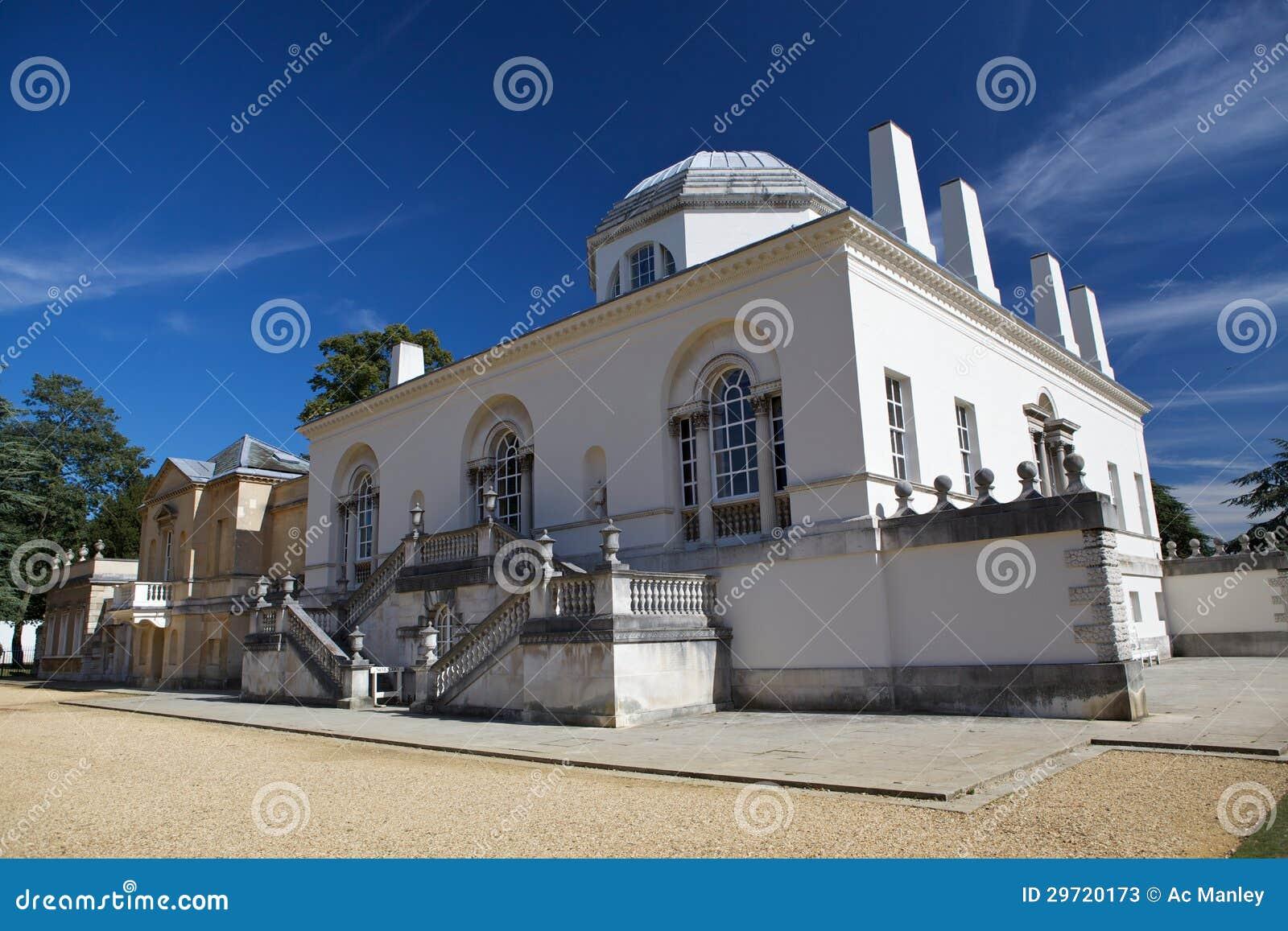 Het huis van chiswick is een villa palladian in de steeg van burlington chiswick in de stad - Huis van het wereldkantoor newport ...