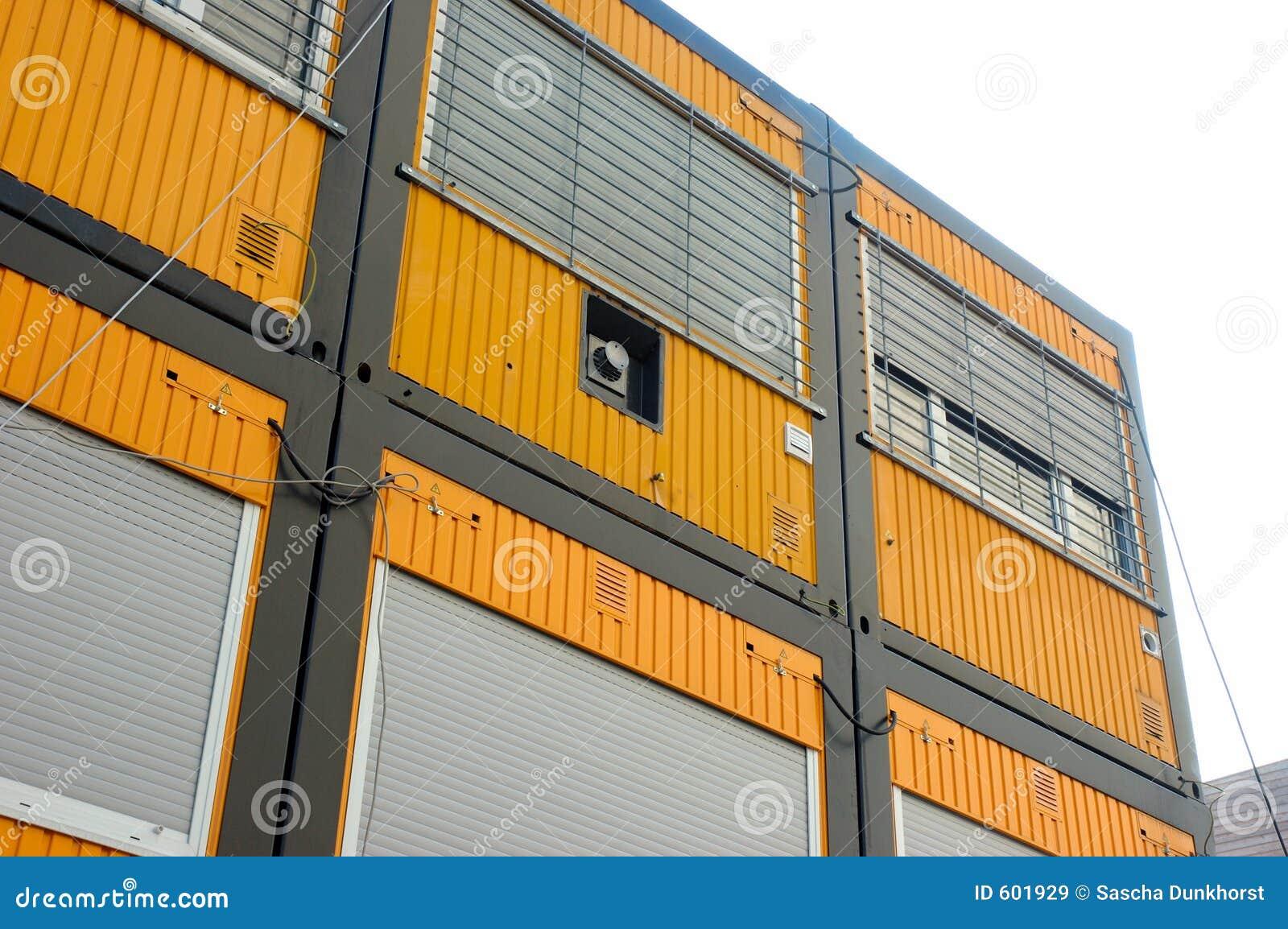 Het huis van de container