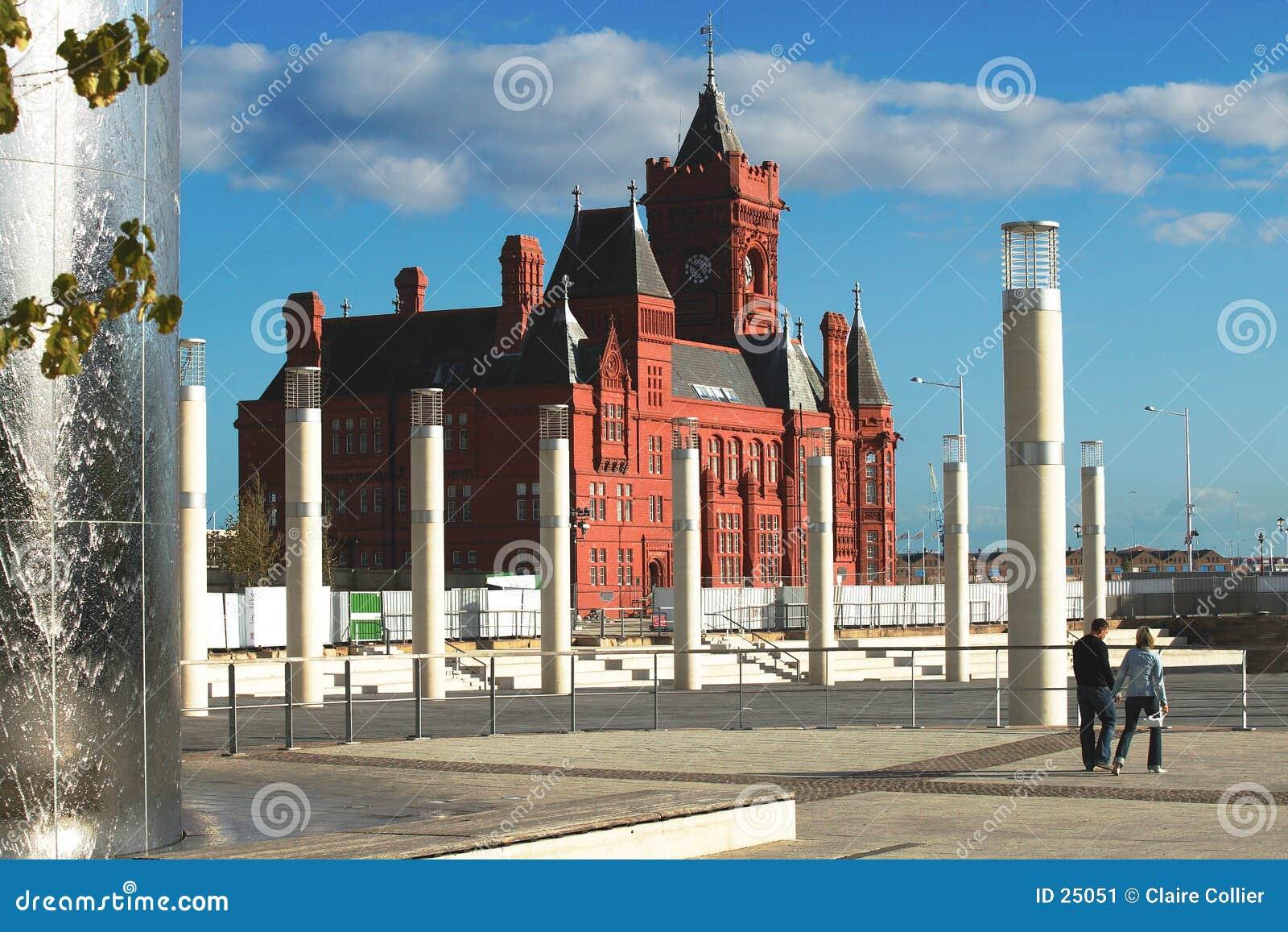 Het Huis van de Douane van de Baai van Cardiff