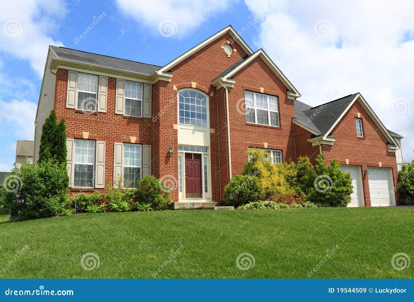 Het Huis van de Familie van de baksteen
