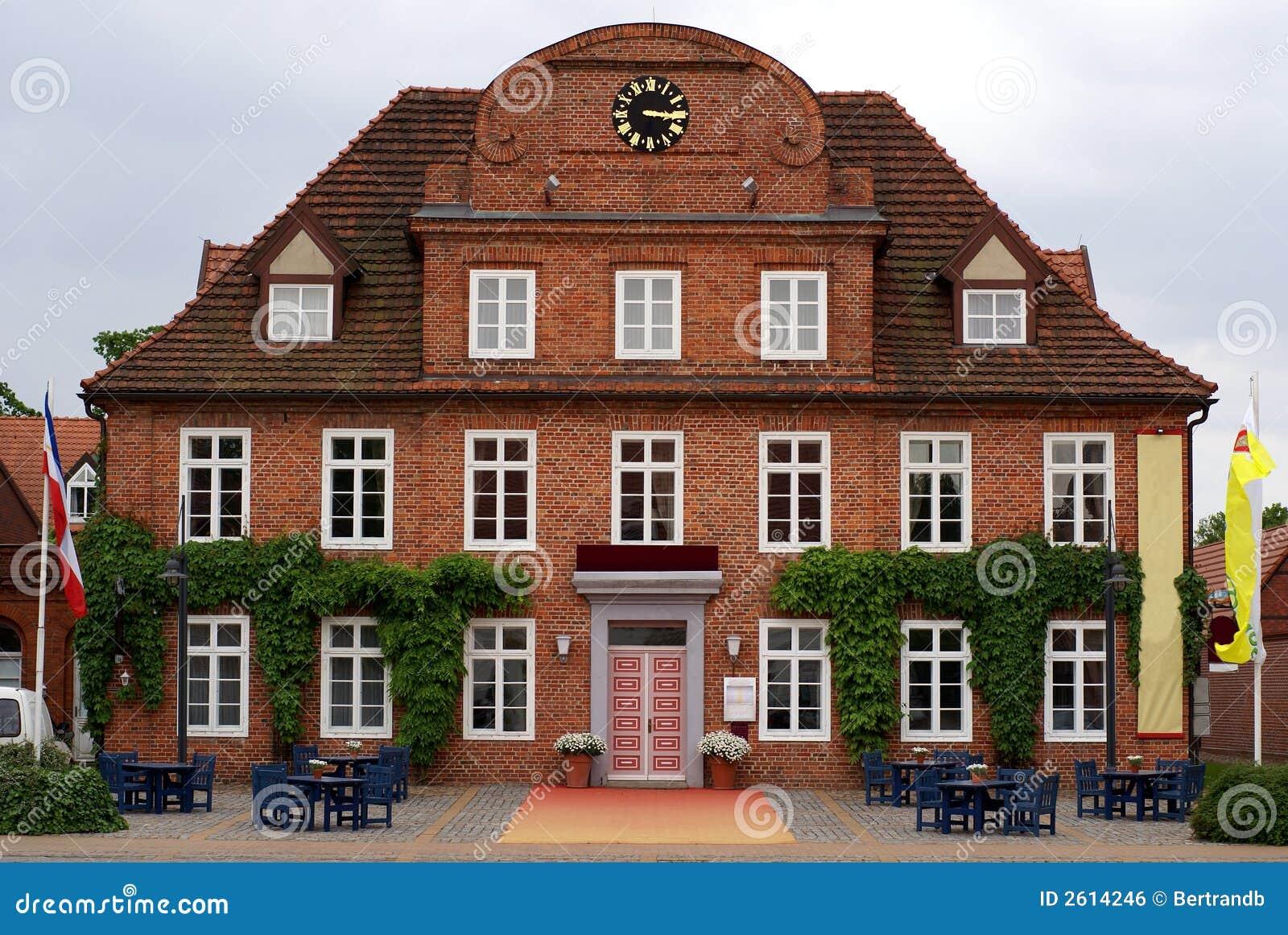 Het huis van de nederlands stijl stock foto afbeelding bestaande
