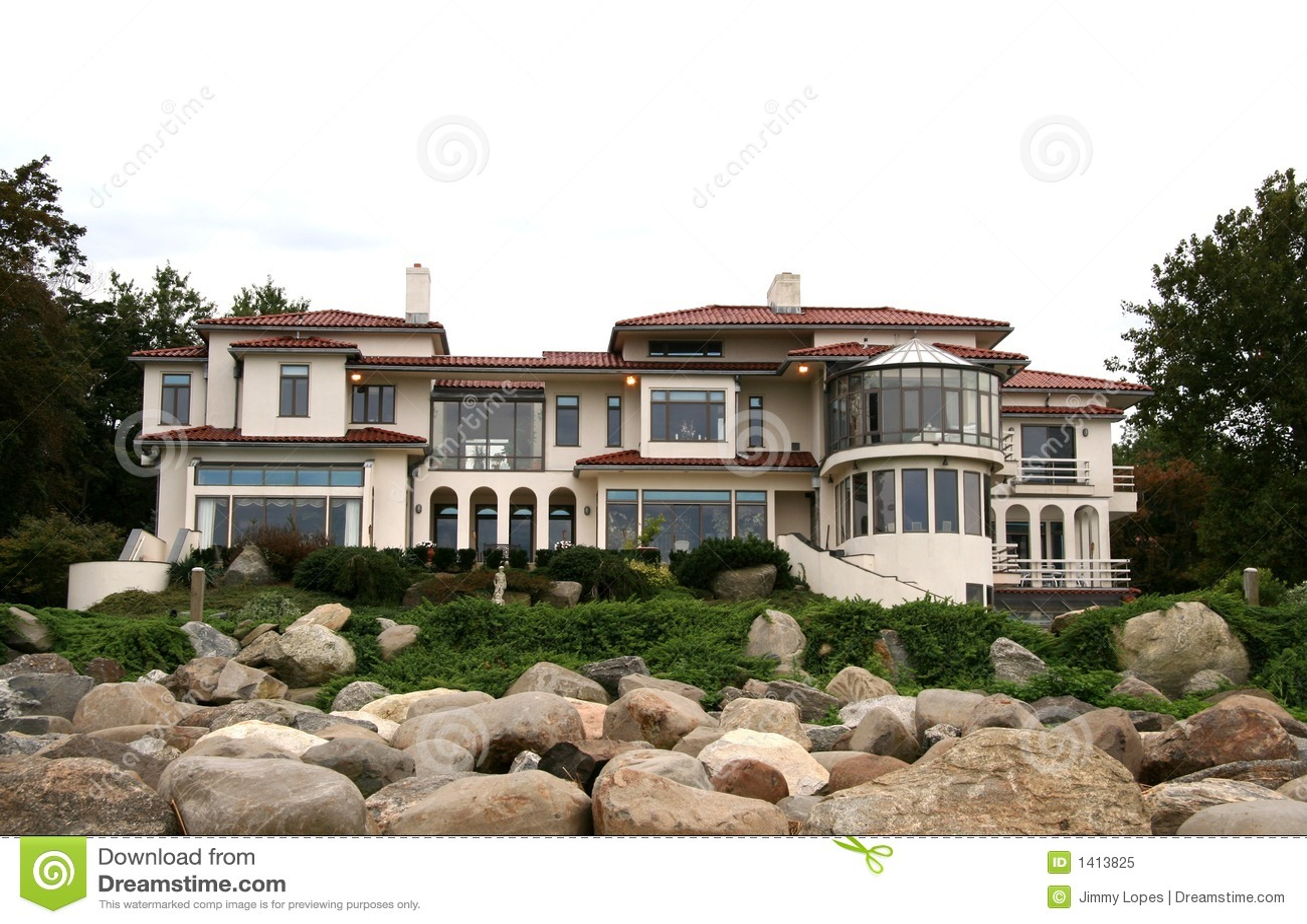 Het Huis van de Onroerende goederen van de luxe