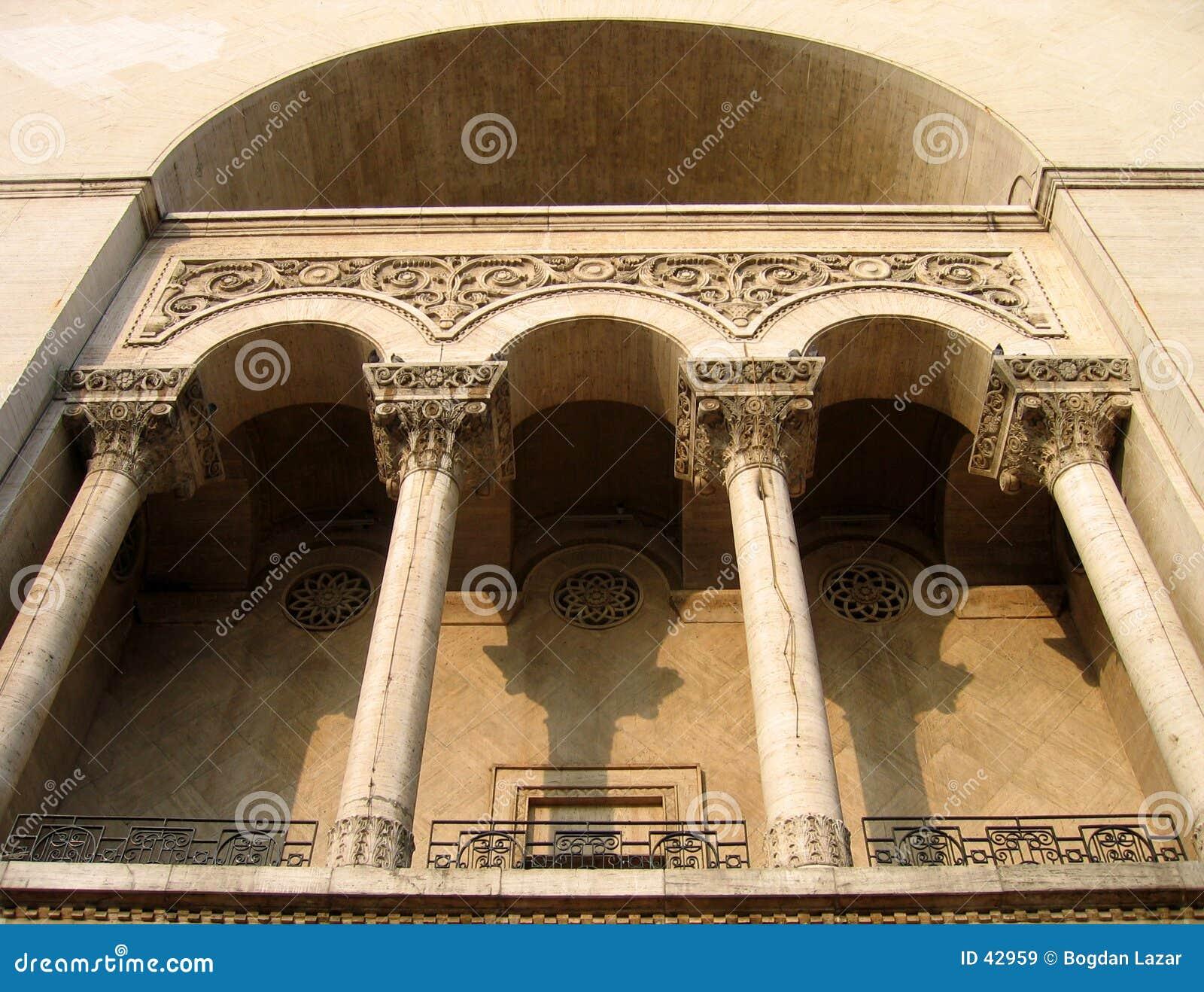 Het huis van de opera, Timisoara Roemenië