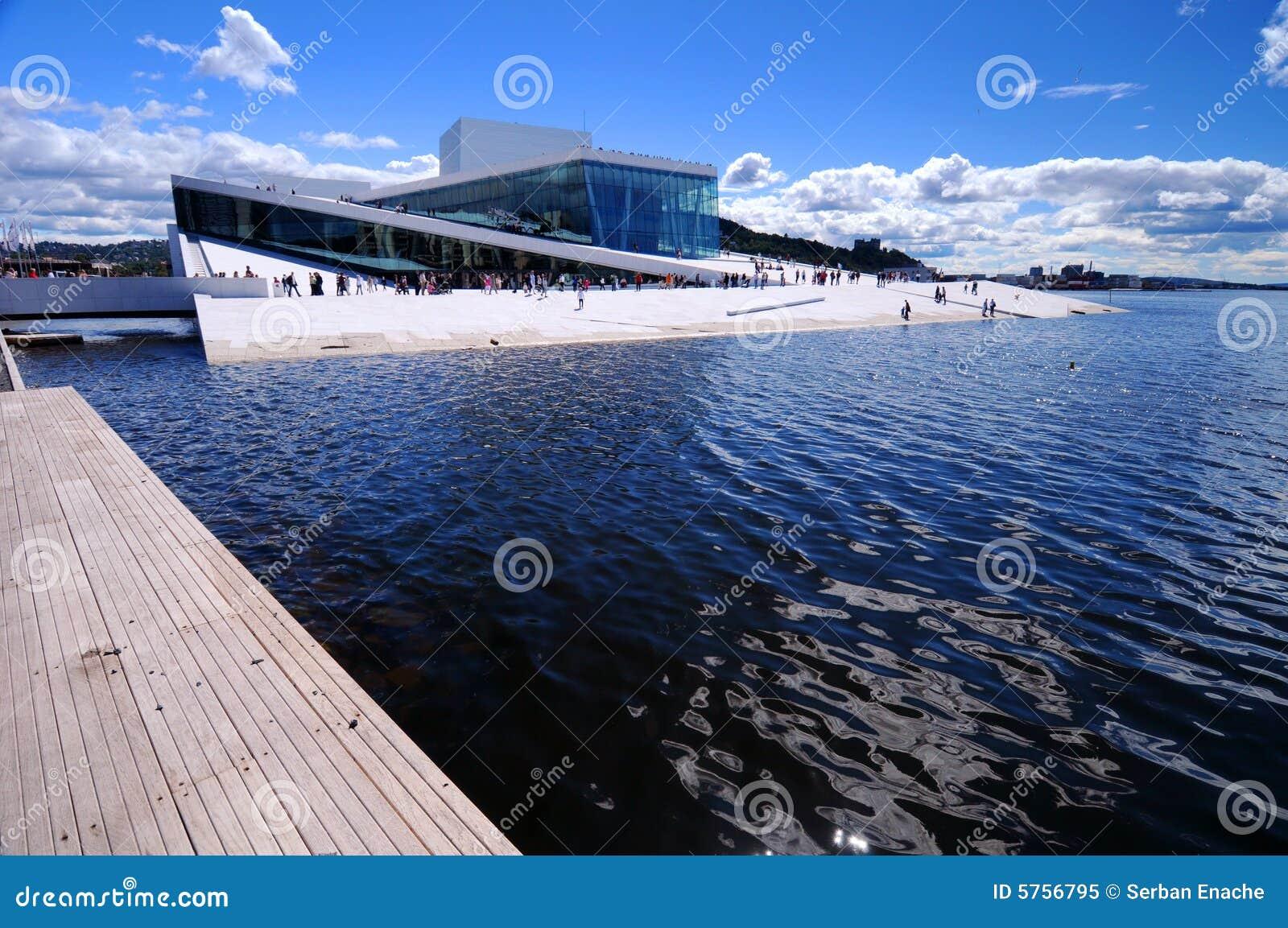 Het Huis van de Opera van Oslo