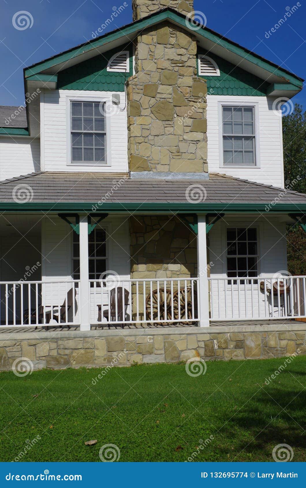 Het huis van de periode 19de eeuw