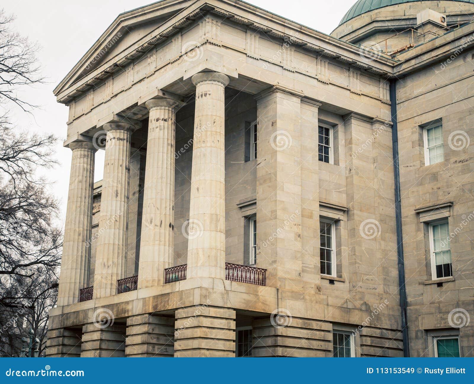 Het huis van de staat in Raleigh North Carolina