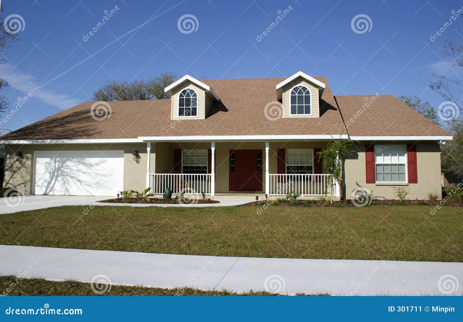 Het huis van de stijl van de boerderij stock afbeelding afbeelding 301711 - Huis van het wereldkantoor newport ...