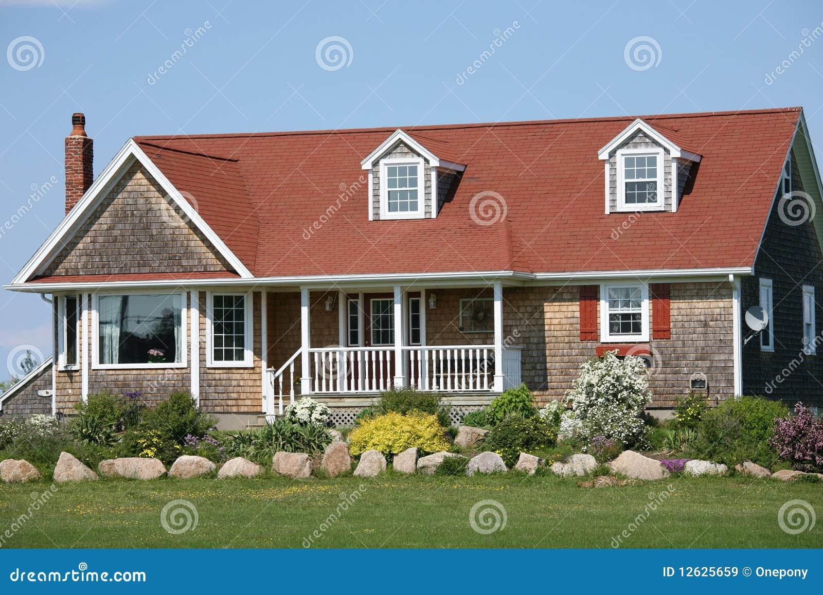 Het huis van de tuin stock afbeelding afbeelding bestaande uit