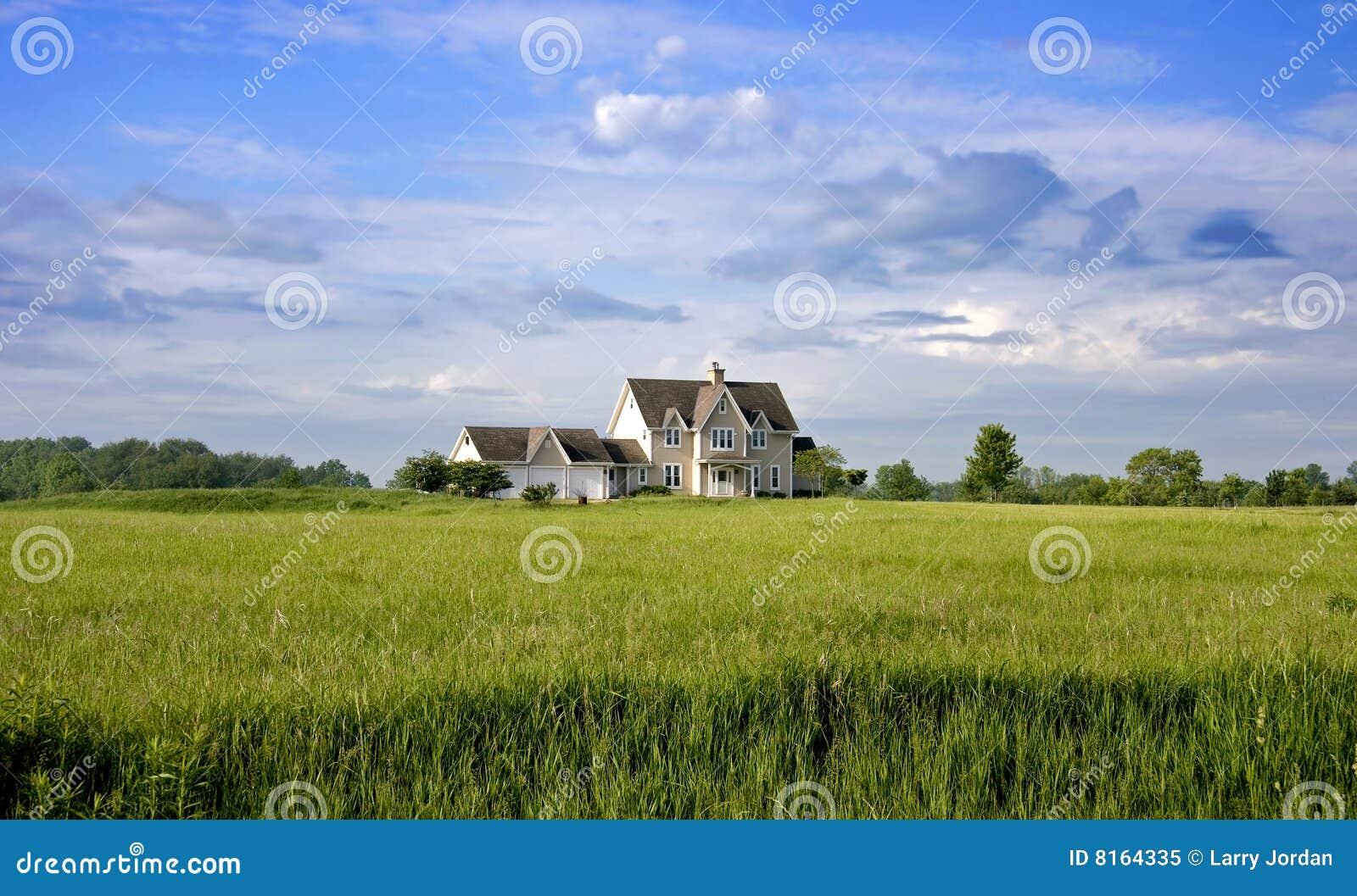 Het Huis van het land met Land