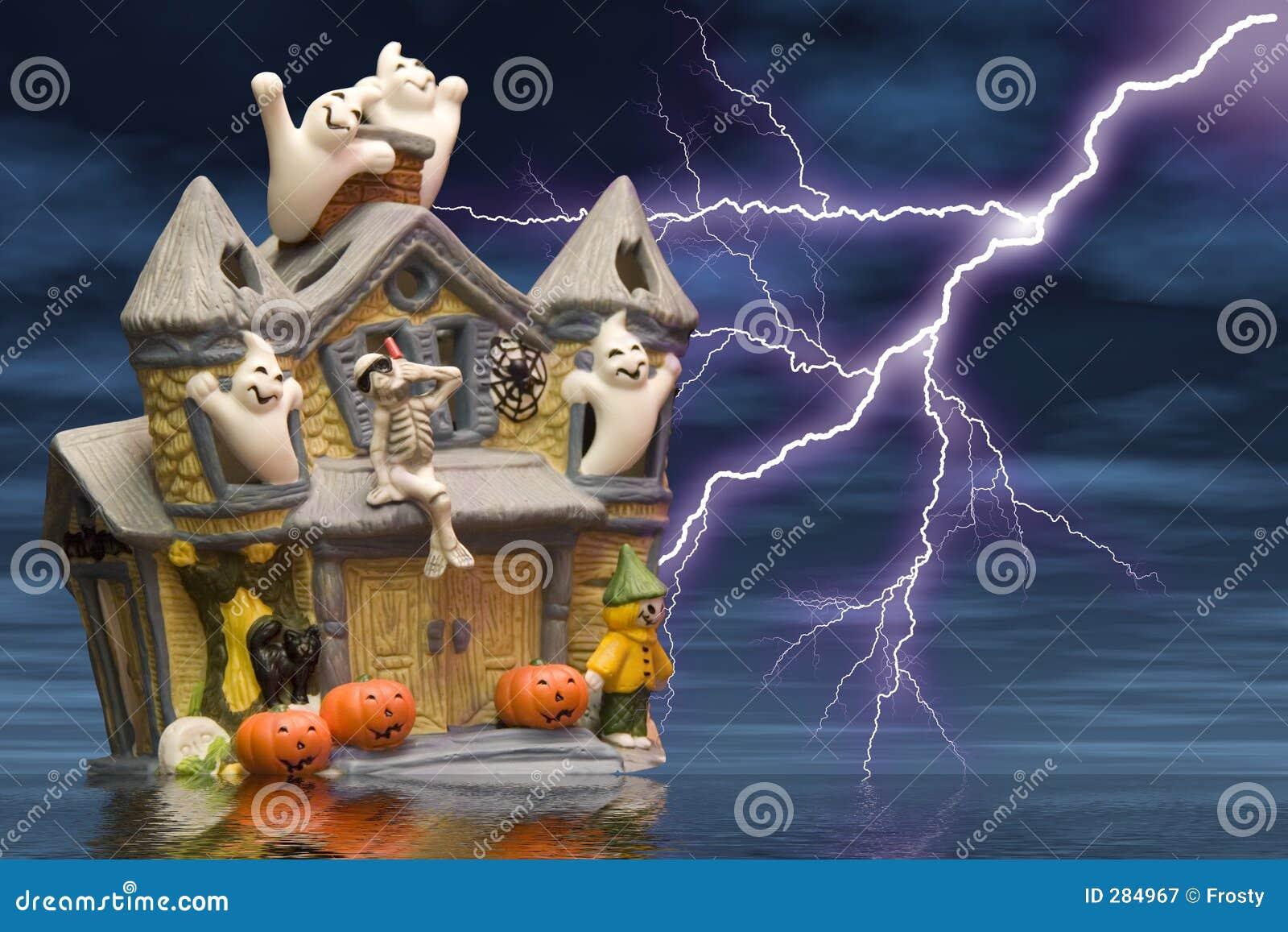 Het huis van het spook