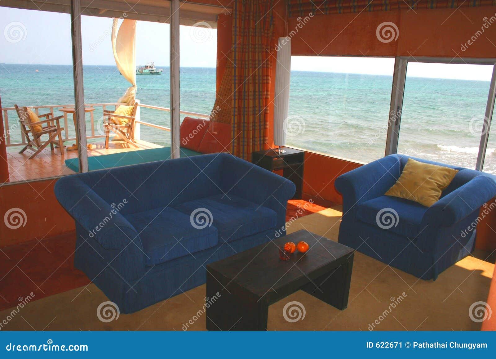 Het huis van het strand