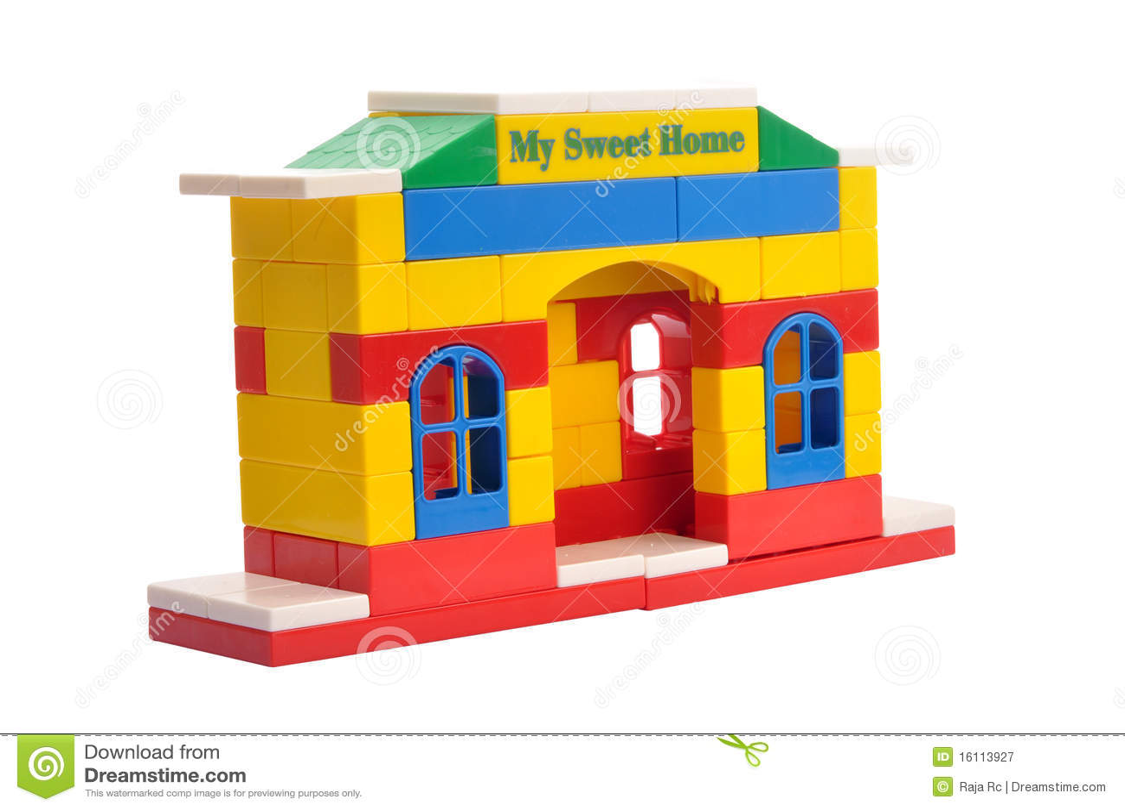 Het huis van het stuk speelgoed