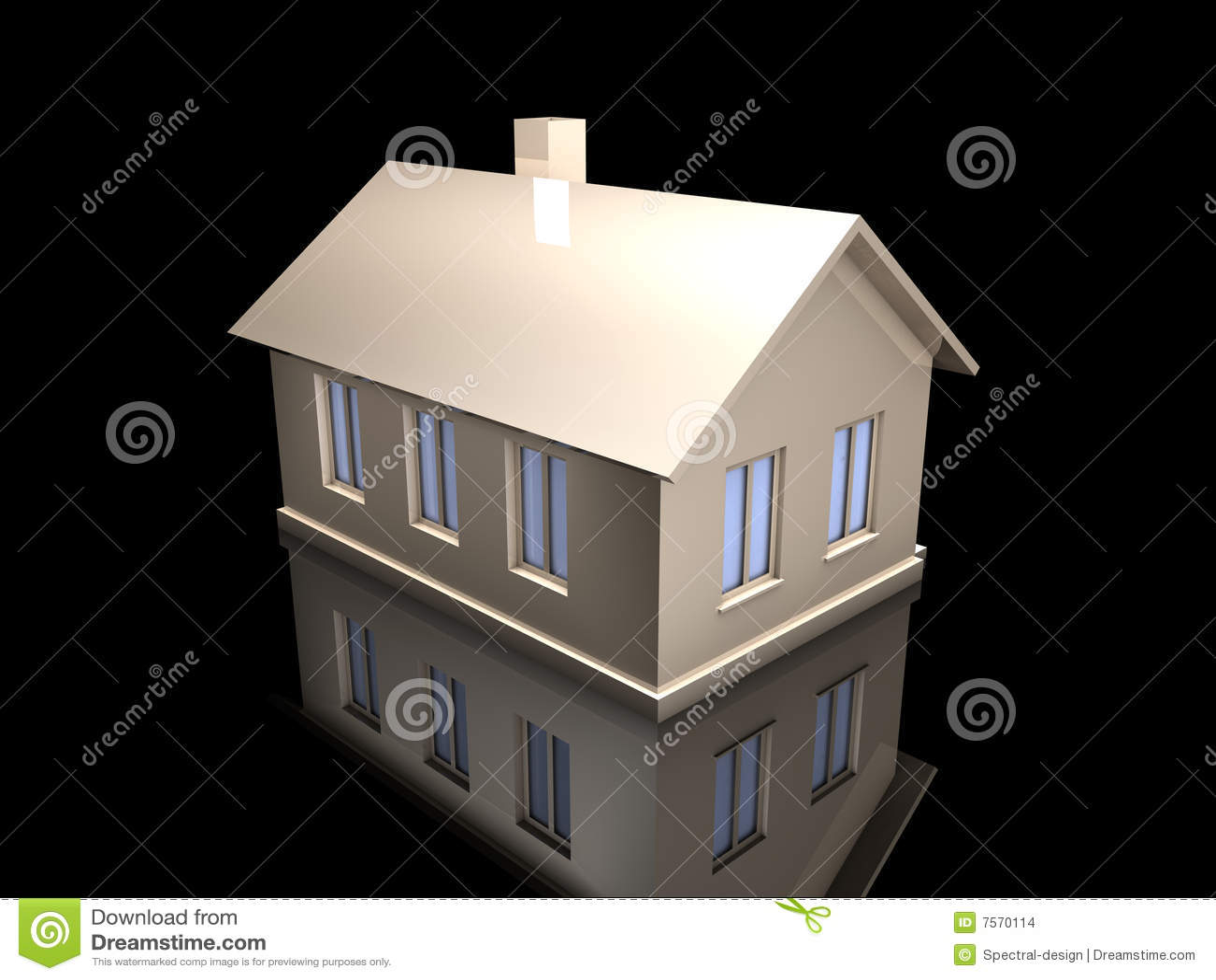 Het huis van het stuk speelgoed van het metaal stock illustratie afbeelding 7570114 - Huis van het wereldkantoor newport ...