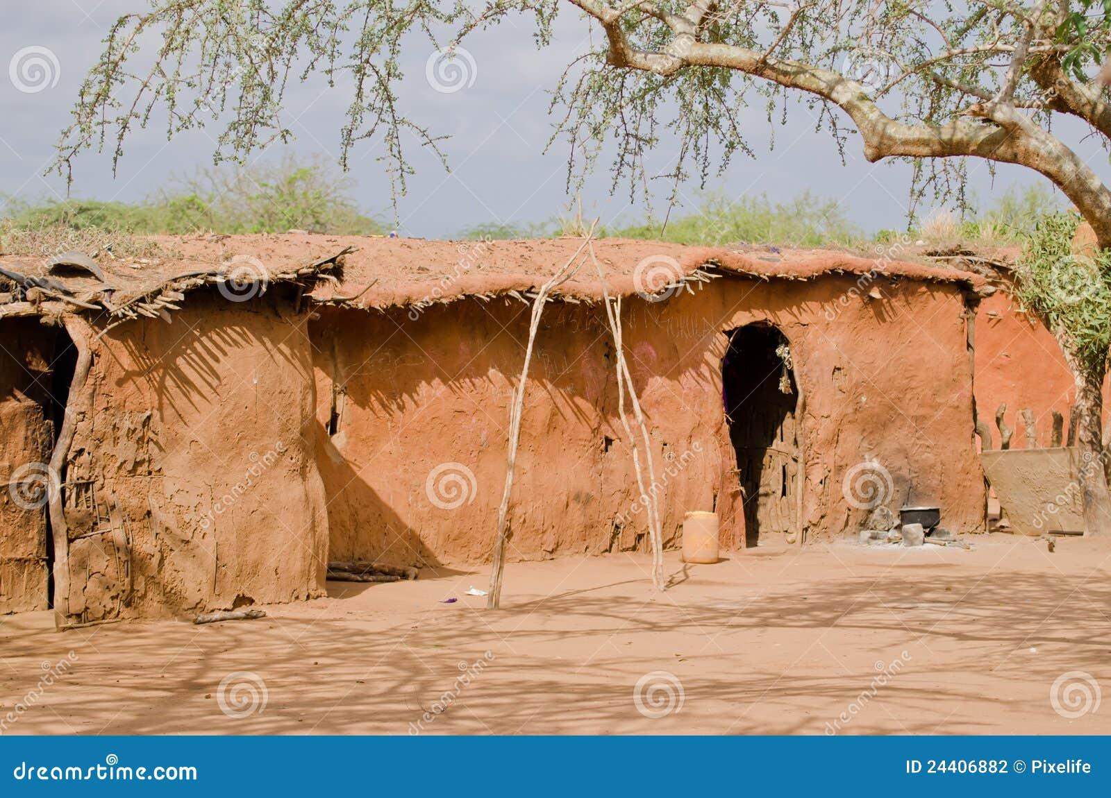 Het huis van masai stock foto afbeelding bestaande uit traditie 24406882 - Huis van de wereld vaas ...