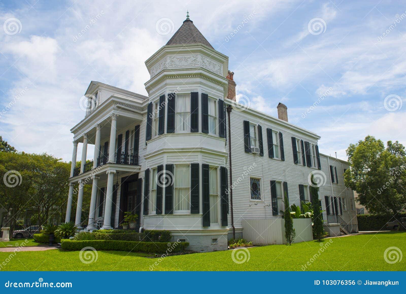 Het Huis van het operagilde, Tuindistrict, New Orleans